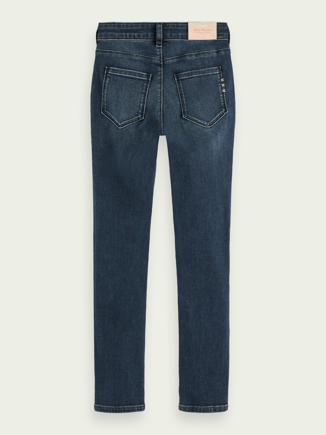 Mädchen La Charmante – Moody Blue | High-Rise Skinny Fit Jeans