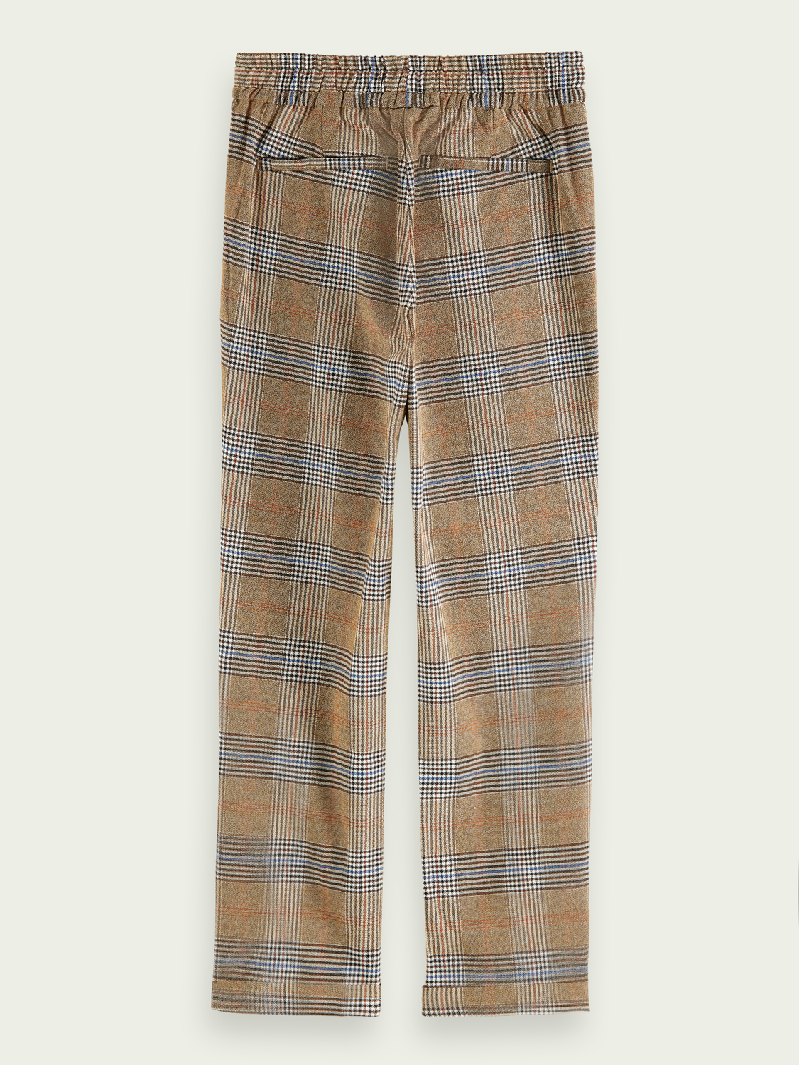 Boys Relaxed slim fit checked pants