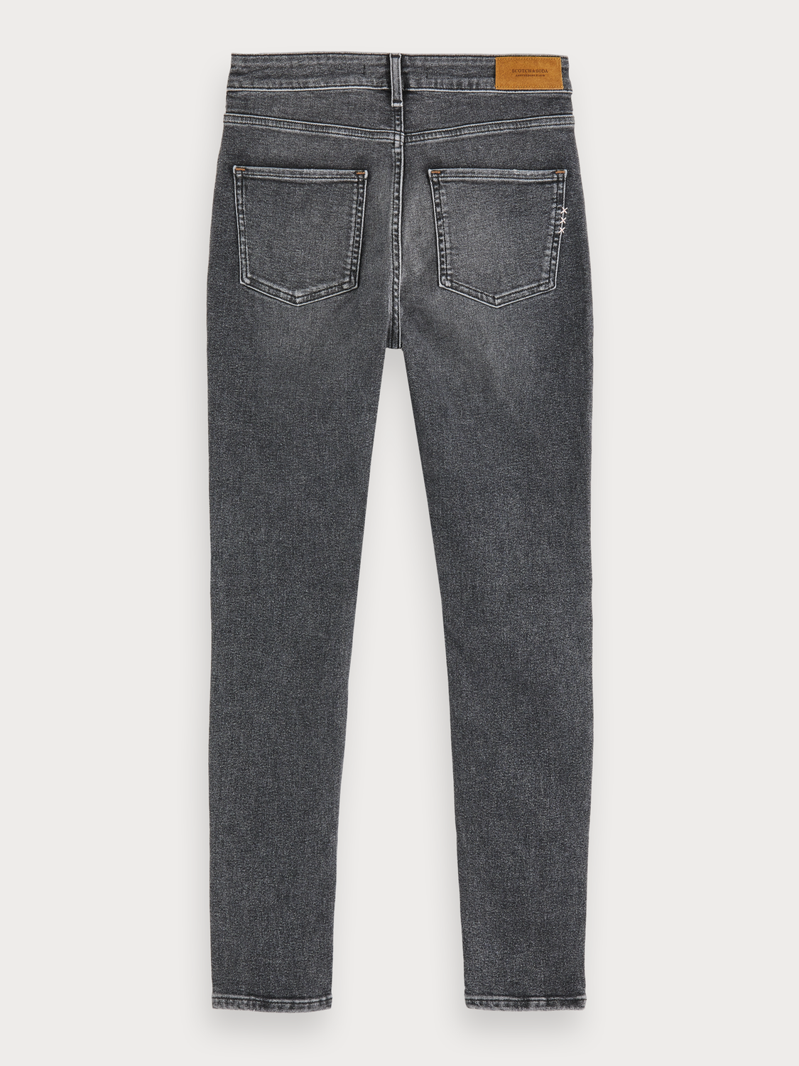 Damer Haut - Touch Of Dust | Stretchjeans med high-rise skinny fit