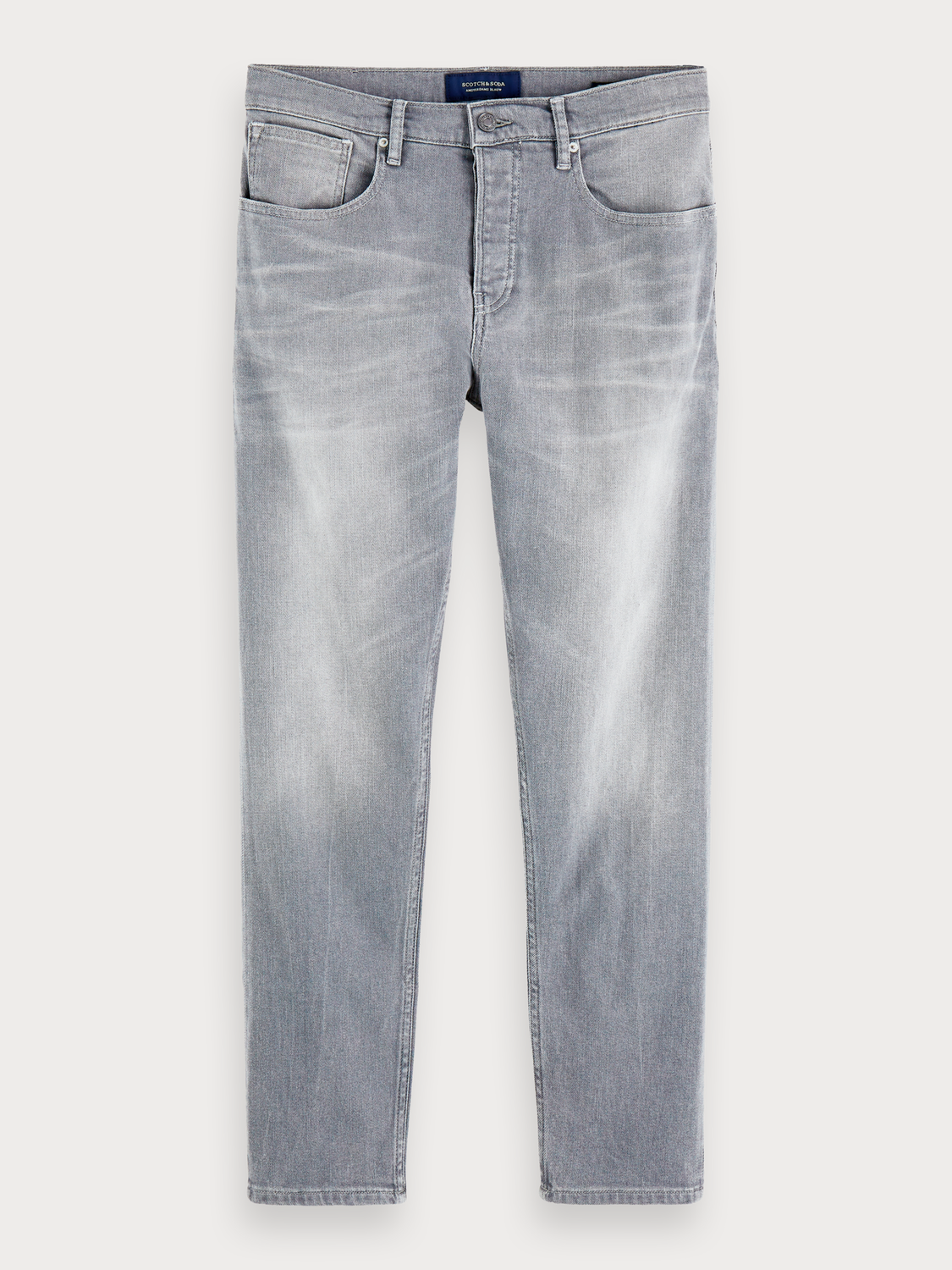 Herrar The Norm - Stone And Sand | Jeans med high-rise straight fit