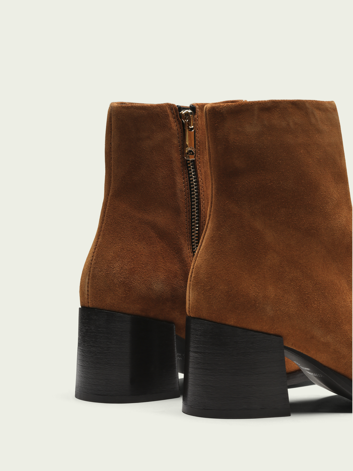 Women Florence - heeled suede ankle boots