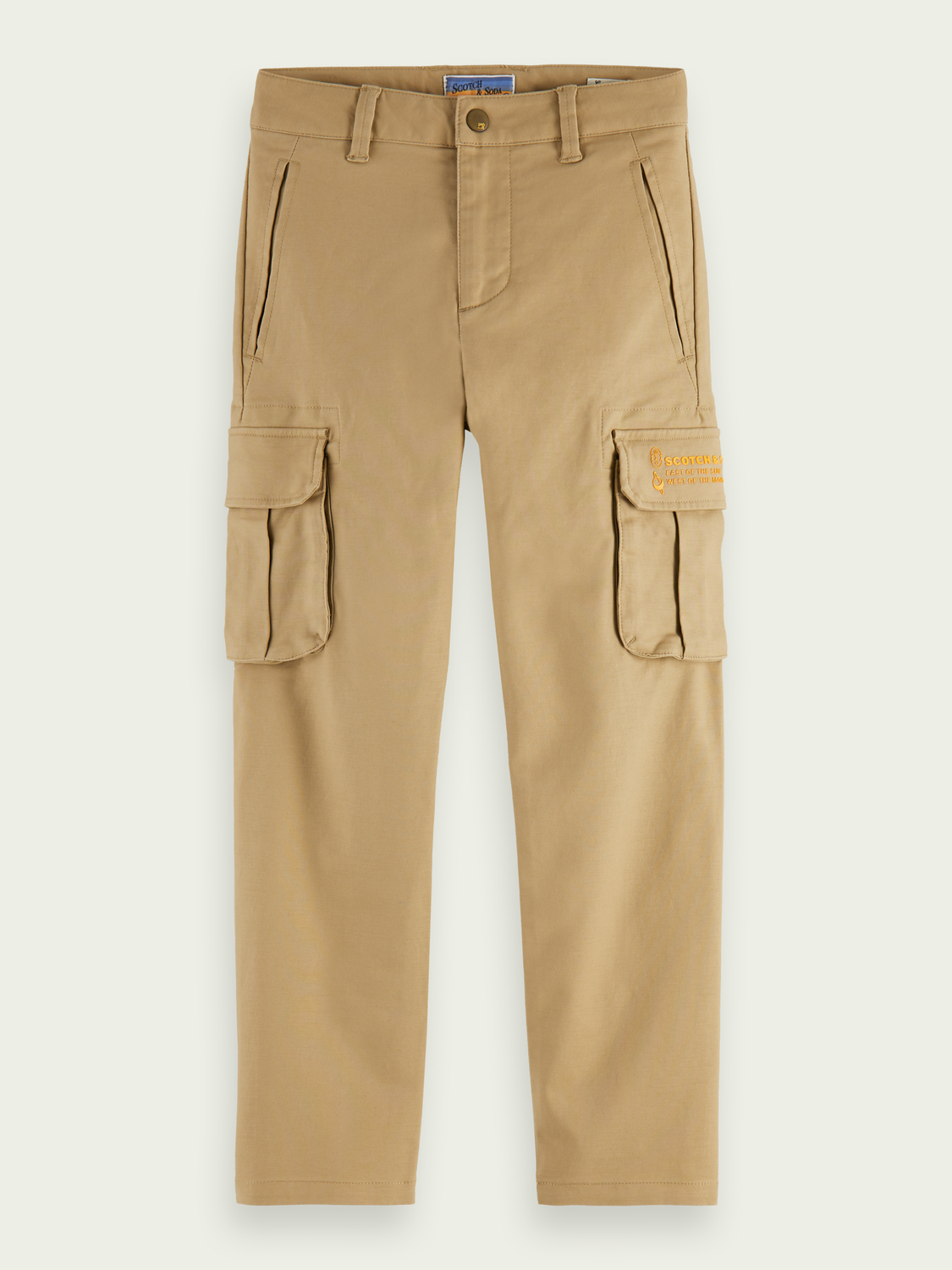 Jungen Clean-Style Cargo-Hose | Loose Tapered Fit