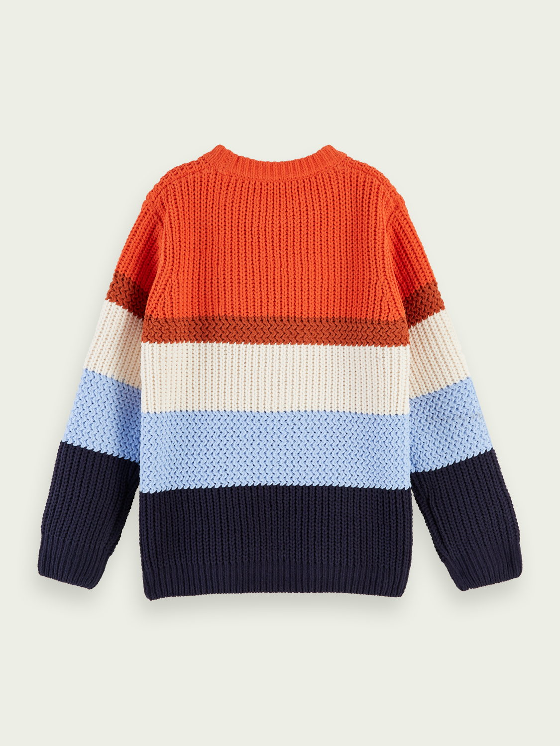 Kids Chenille striped pullover