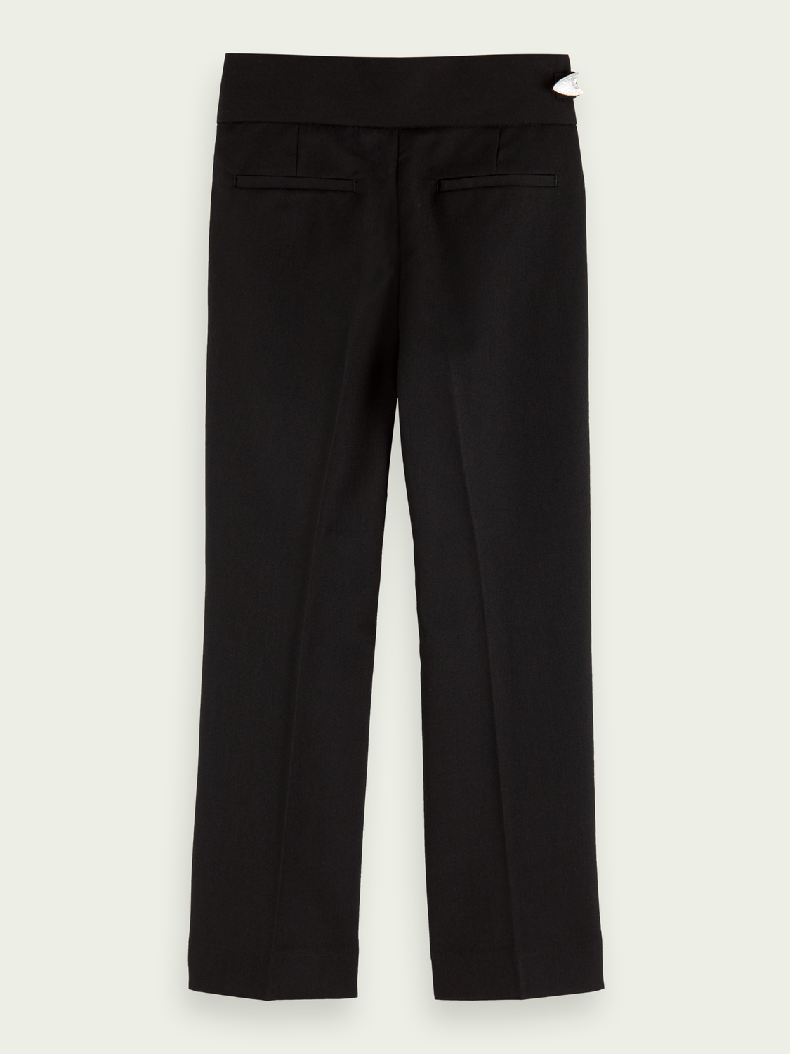 Kids Relaxed fit high-rise tailored pants