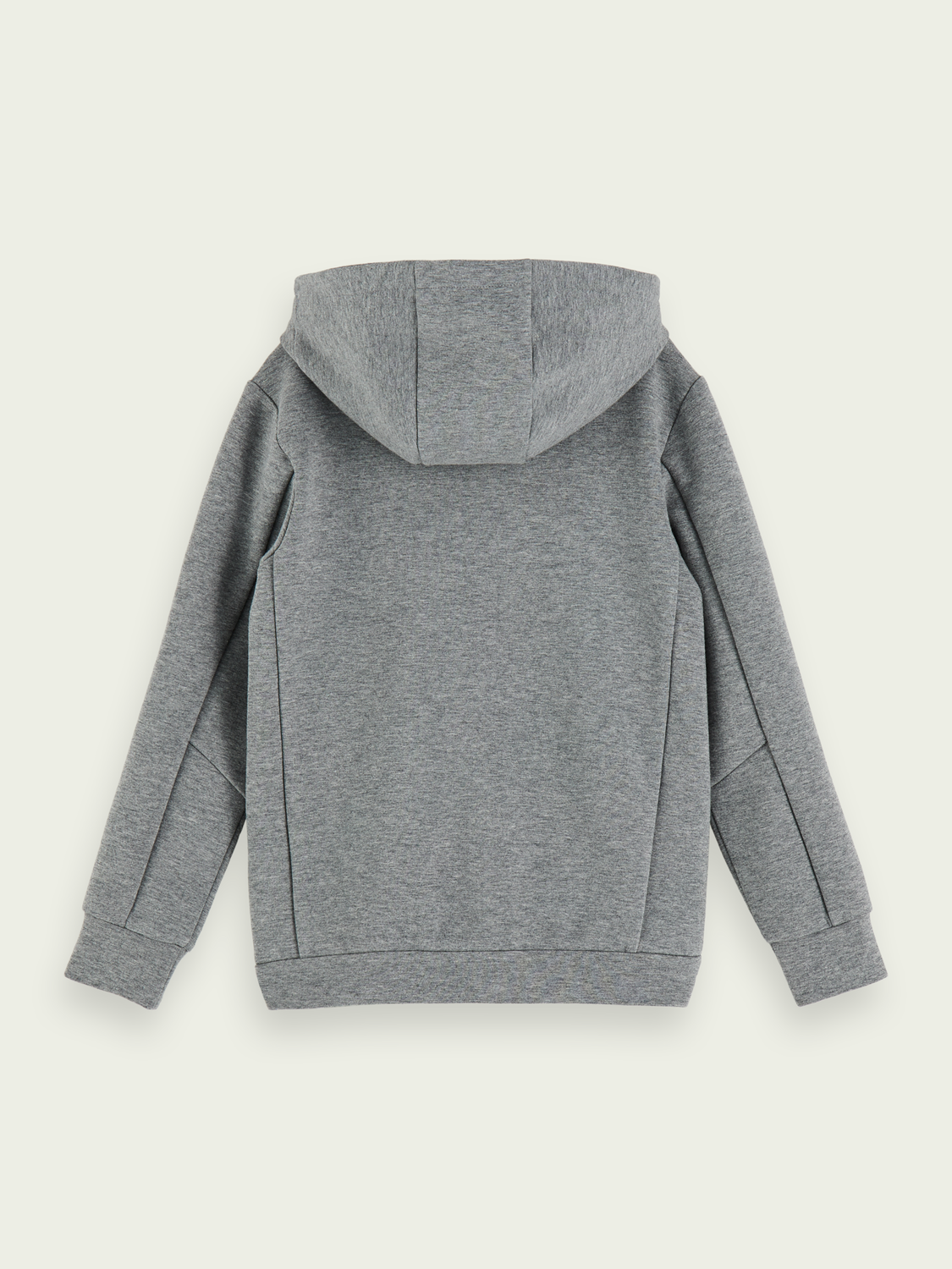 Boys Stretch cotton-blend zip-up hoodie