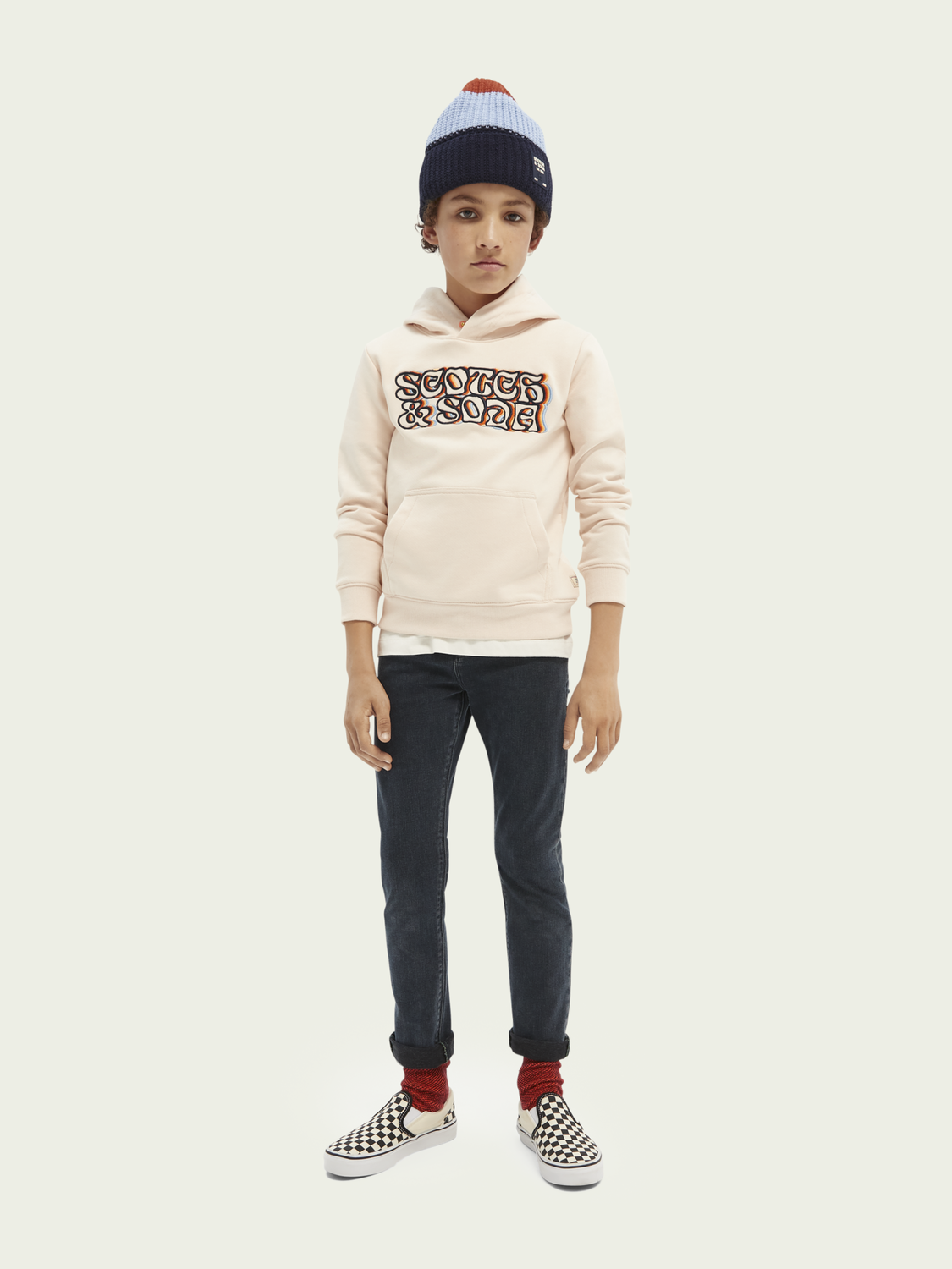 Kinder Tigger Jeans aus recycelter Baumwolle − Ghost Ship