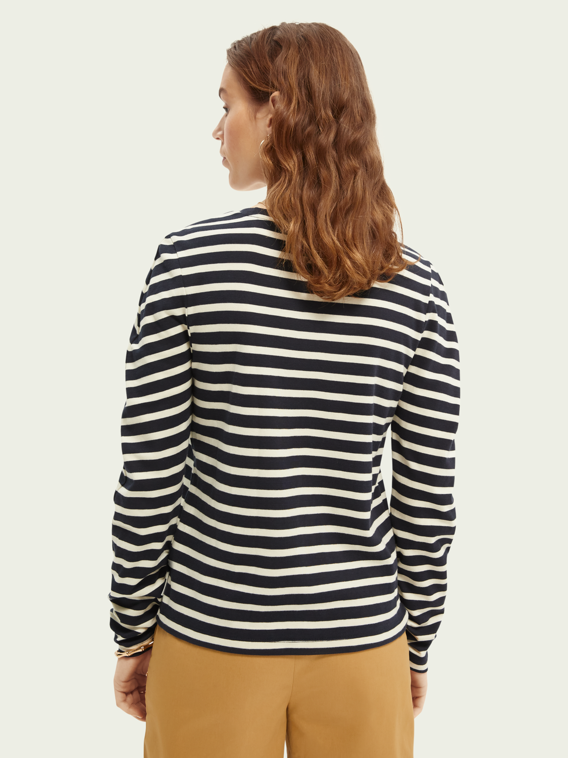 Women Rounded sleeve cotton top