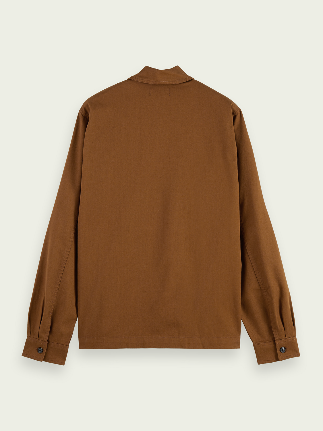 Men Relaxed-fit twill worker shirt