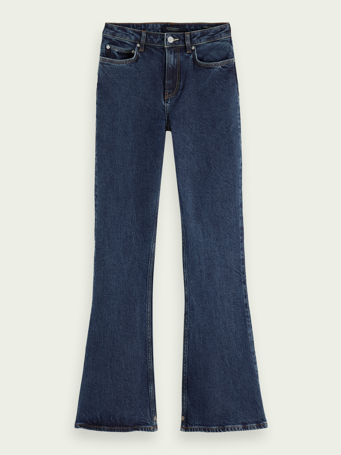 Women The Charm flared jeans — Ocean Rinse