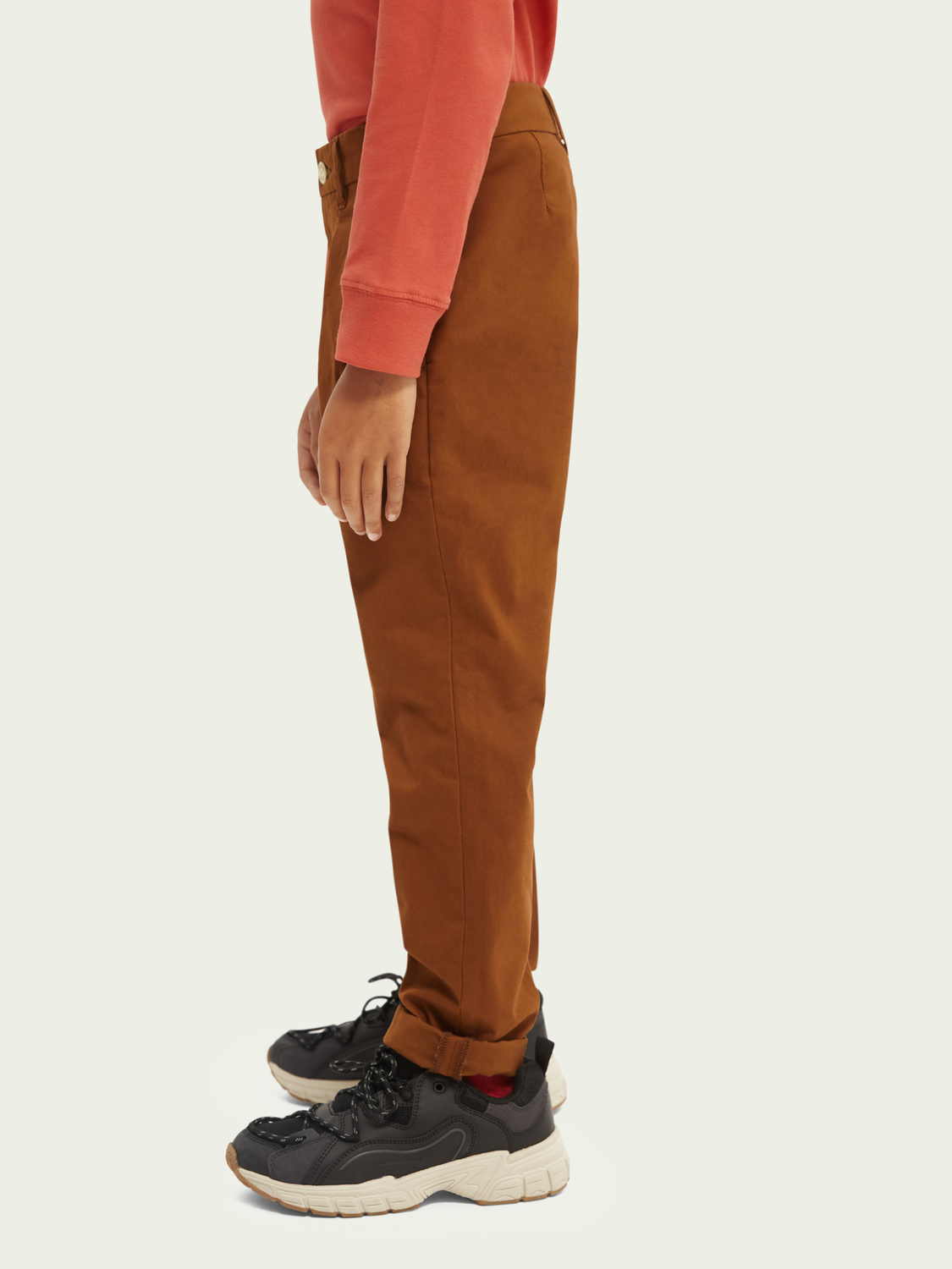 Kids Loose tapered-fit chino trousers