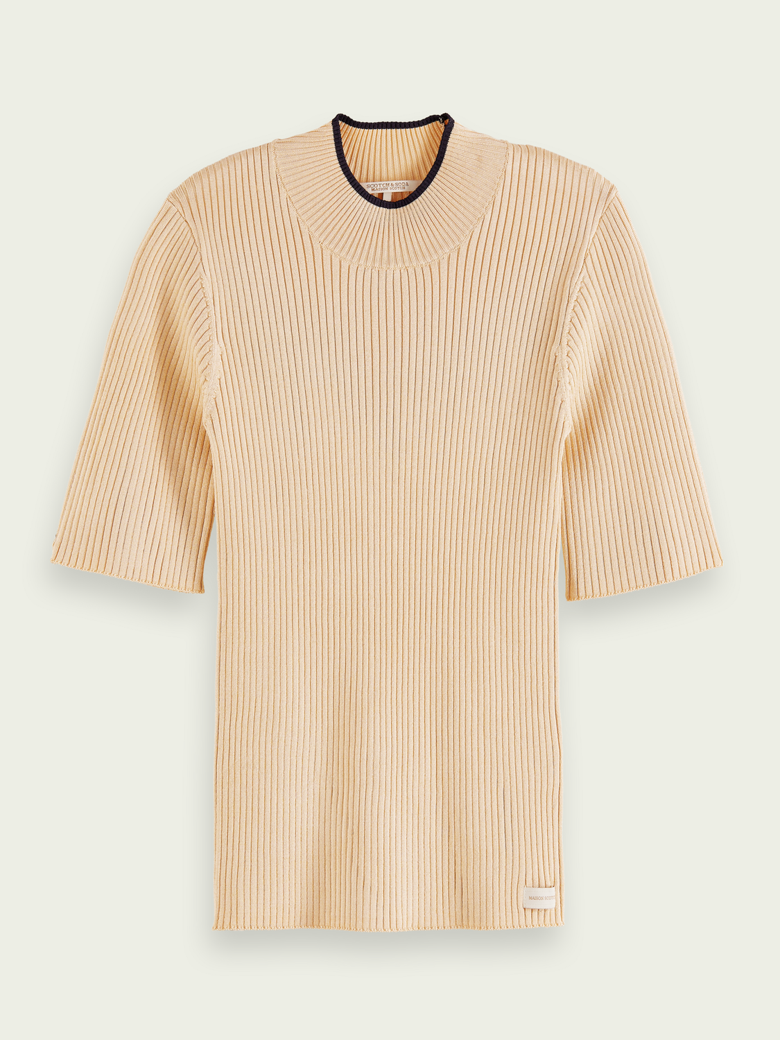 Women Ribbed short-sleeved top