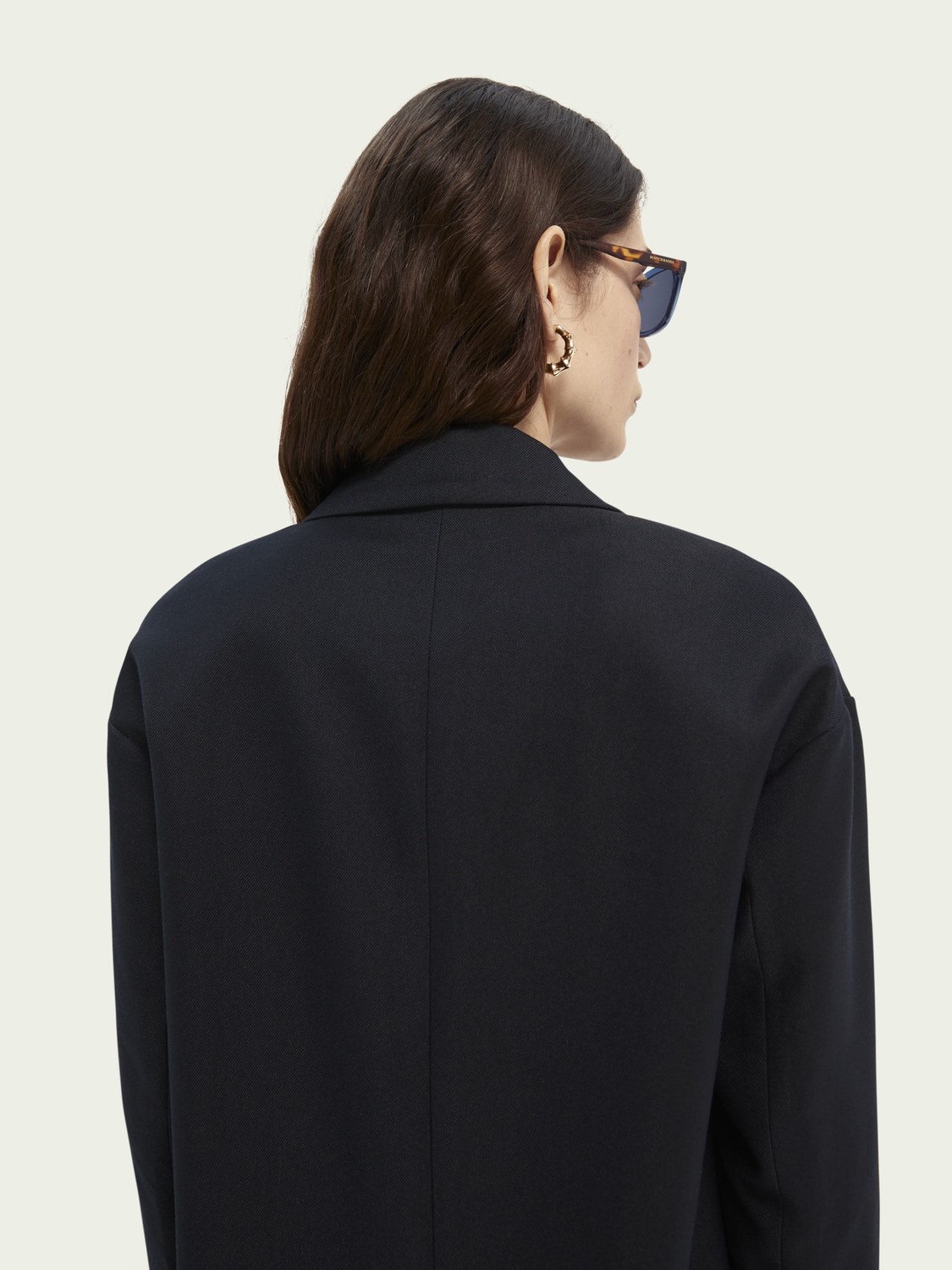 Women Double-breasted tailored coat