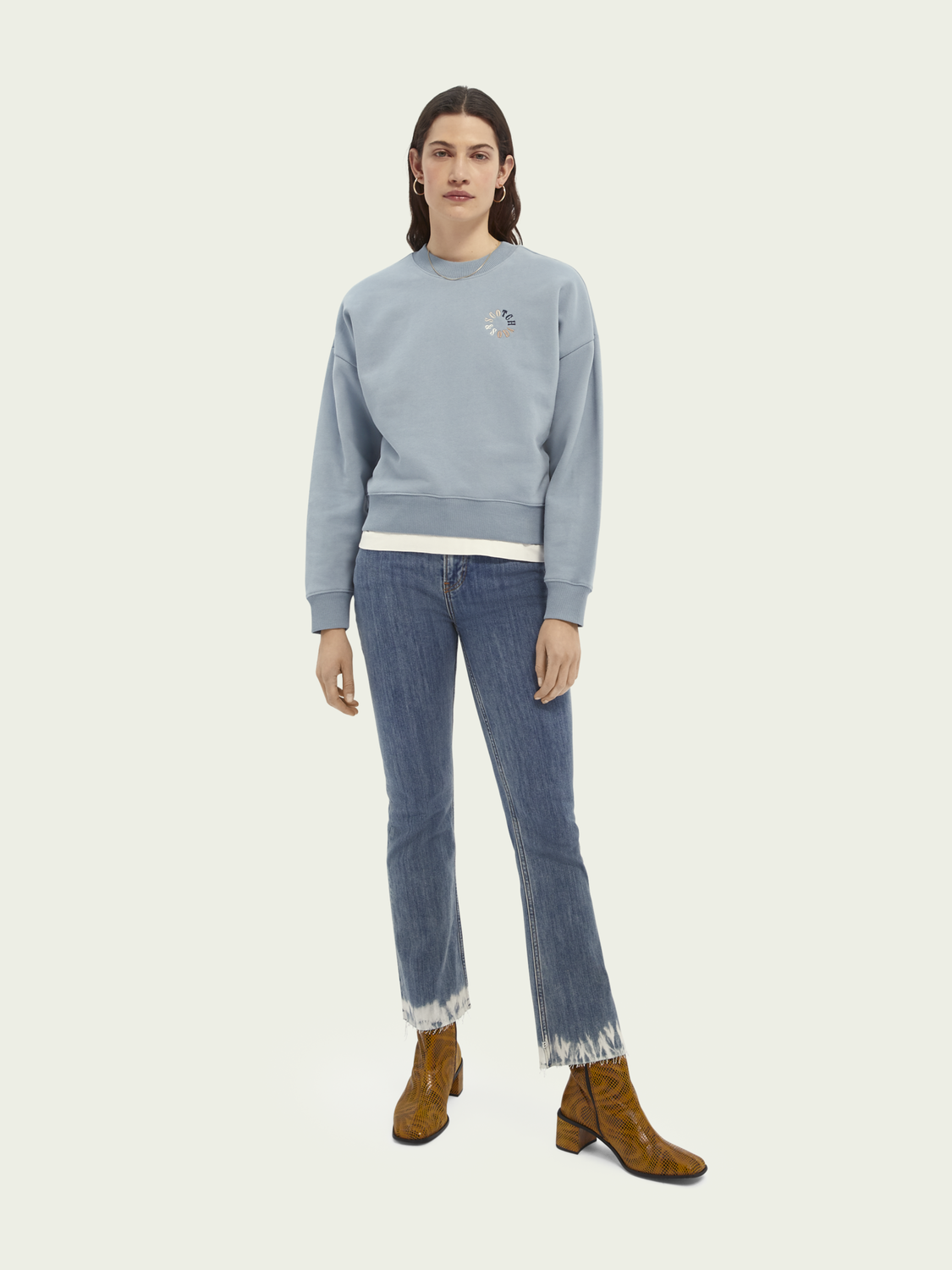 Women Relaxed-fit organic cotton sweater