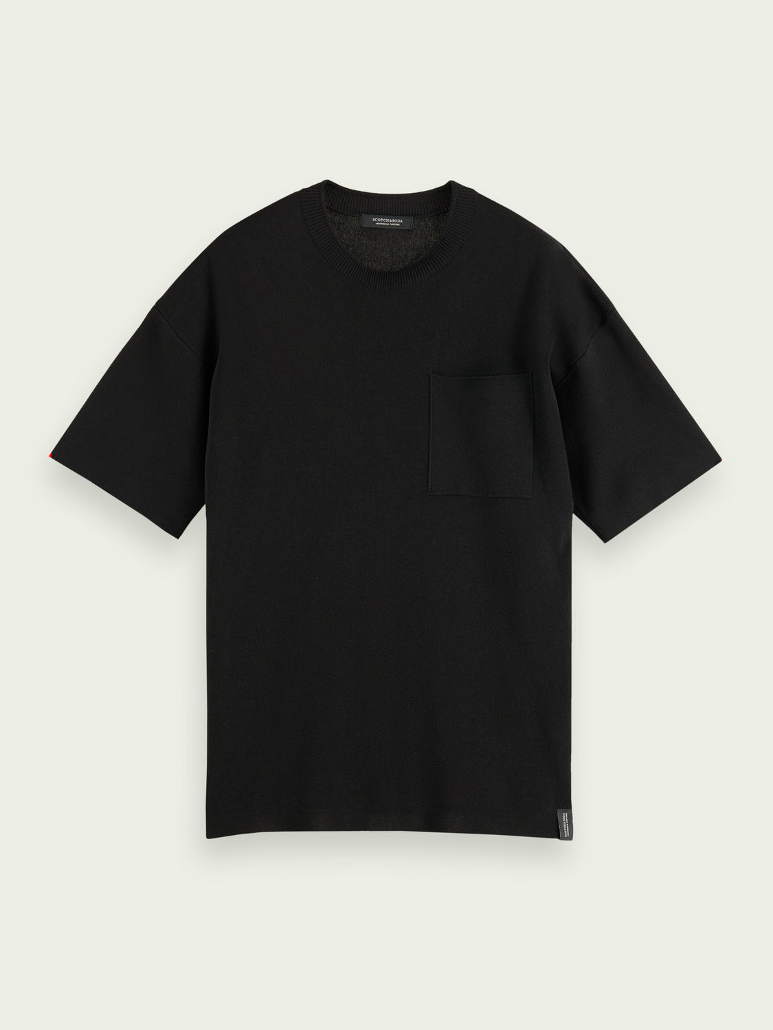 Men Relaxed cotton-blend knitted tee