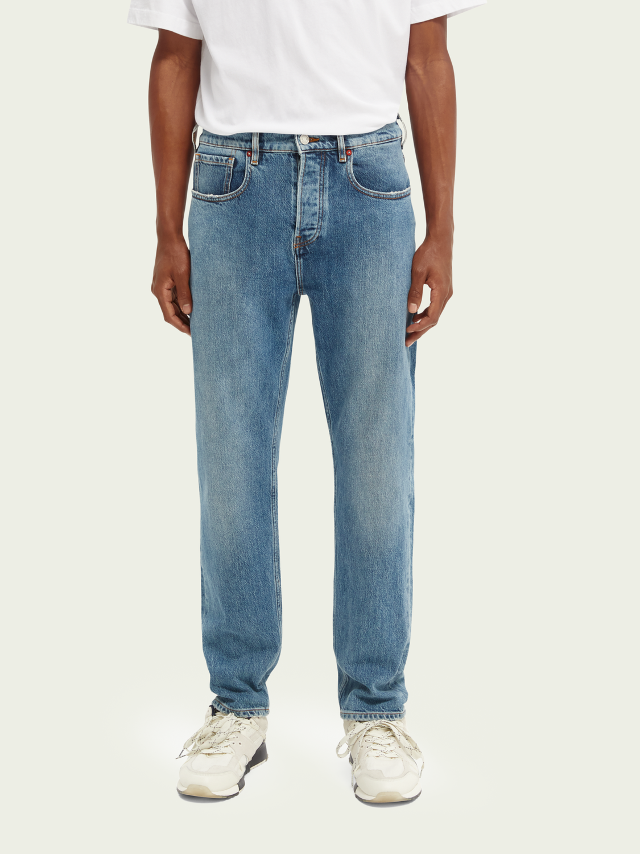 Heren Norm jeans met rechte pijpen – Forecast is Blue