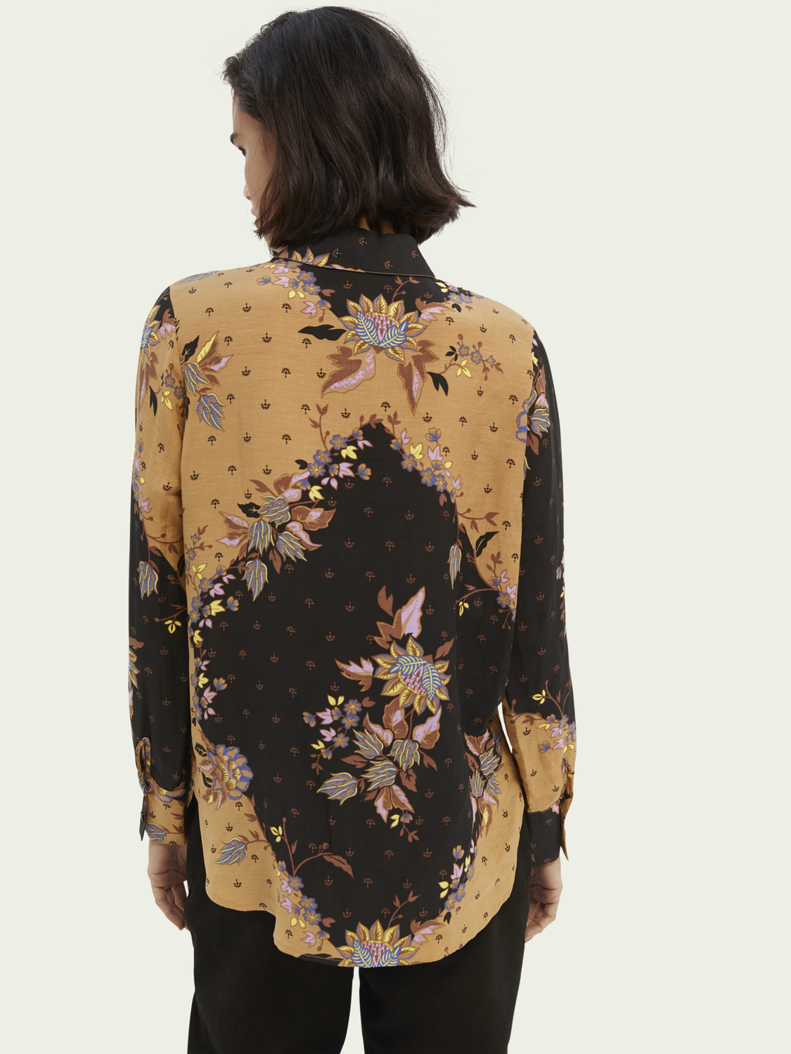Dames Relaxed fit blouse met print