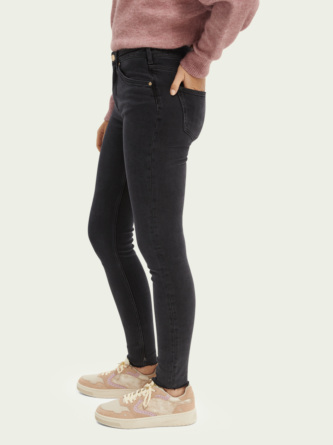 Women Haut high-rise skinny-fit jeans — Ghost