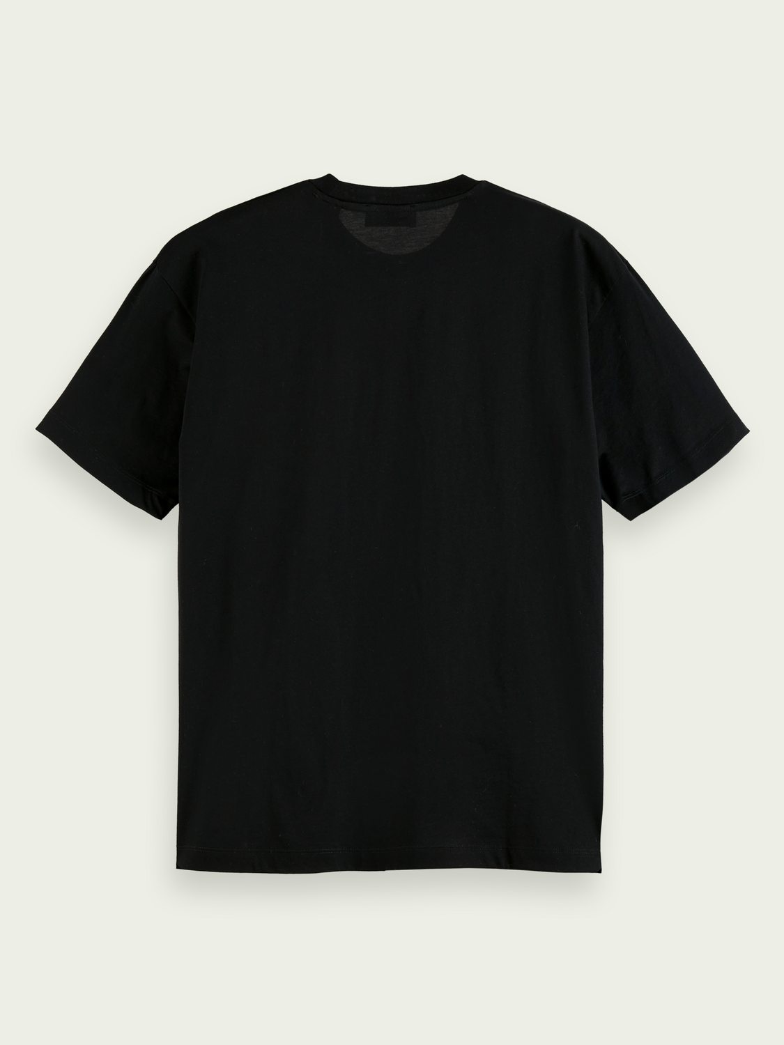 Uomo T-shirt relaxed fit in cotone mercerizzato