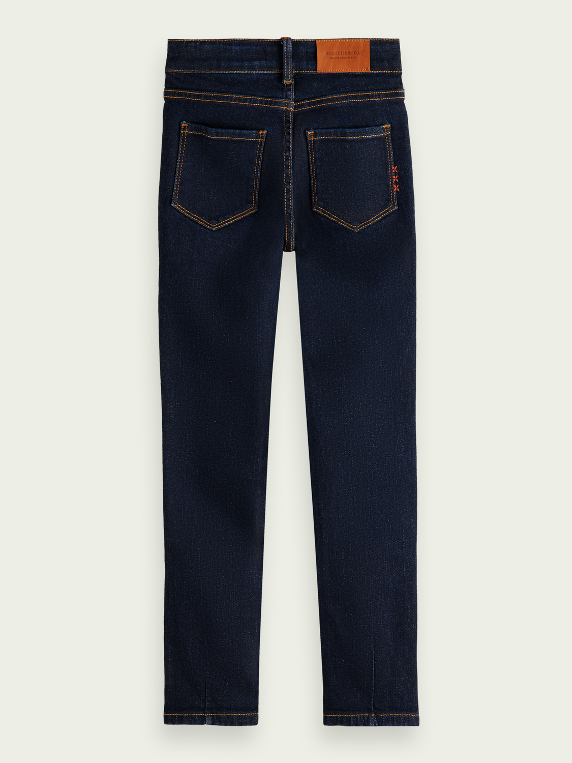 Kids La Charmante high-rise skinny-fit jeans - Under the Sea