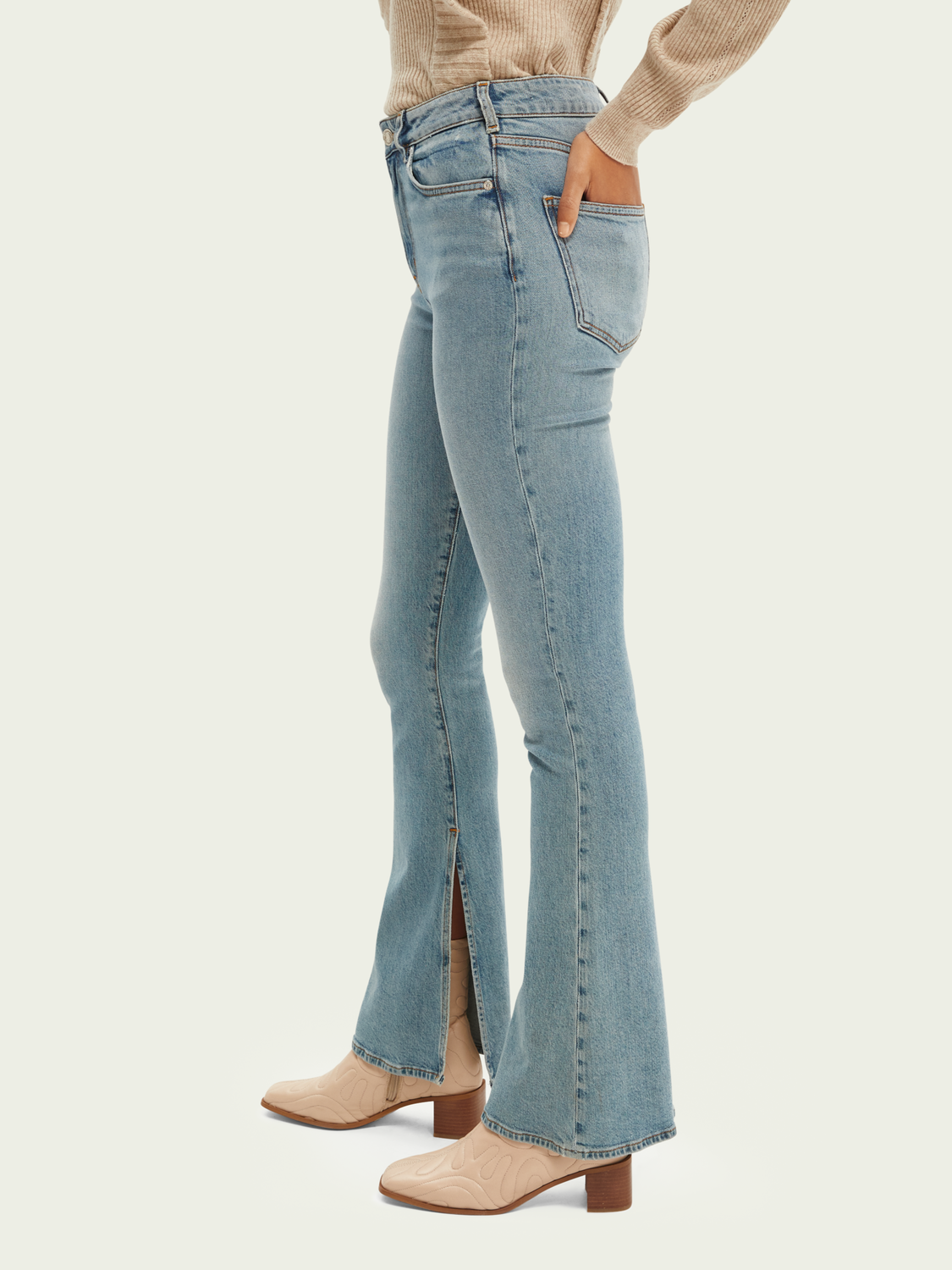 Women The Charm high-rise flared jeans — Free Spirit