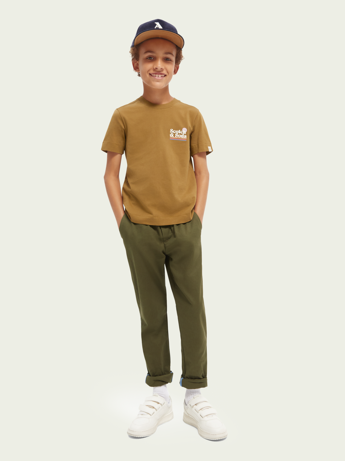 Kids Printed relaxed-fit T-shirt