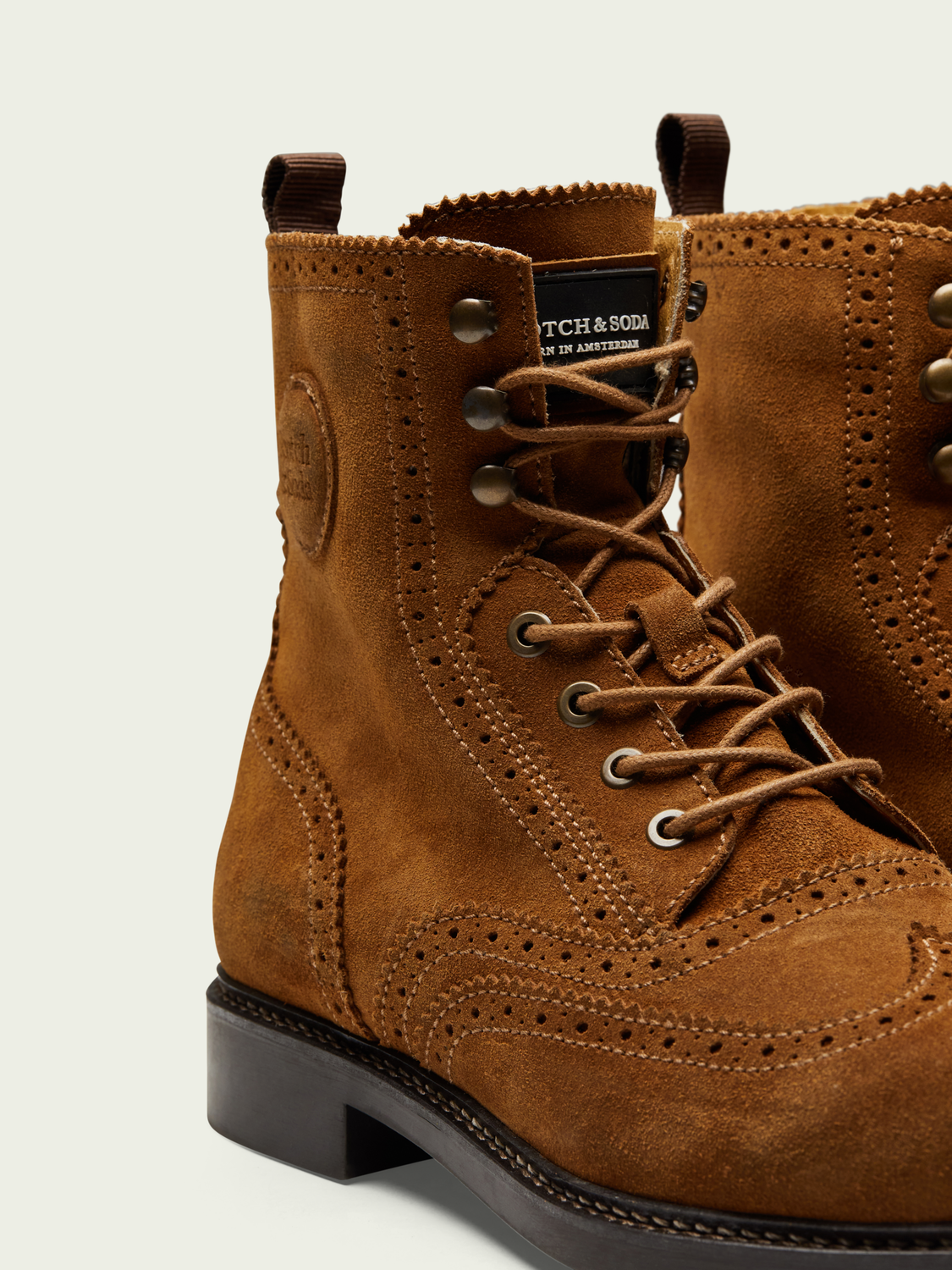 Men Jay mid-length lace-up boot