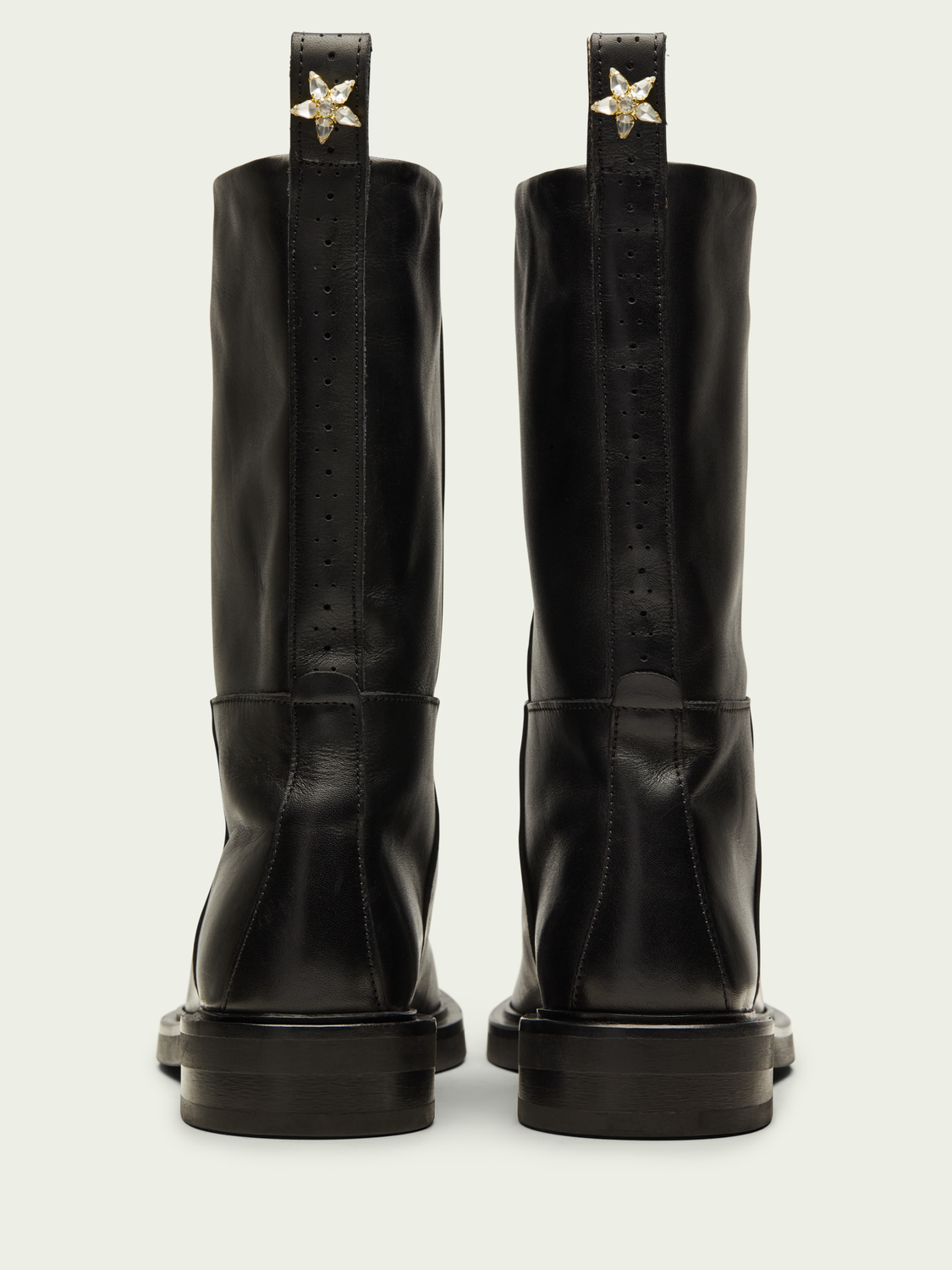 Women Hailey mid-length leather boot