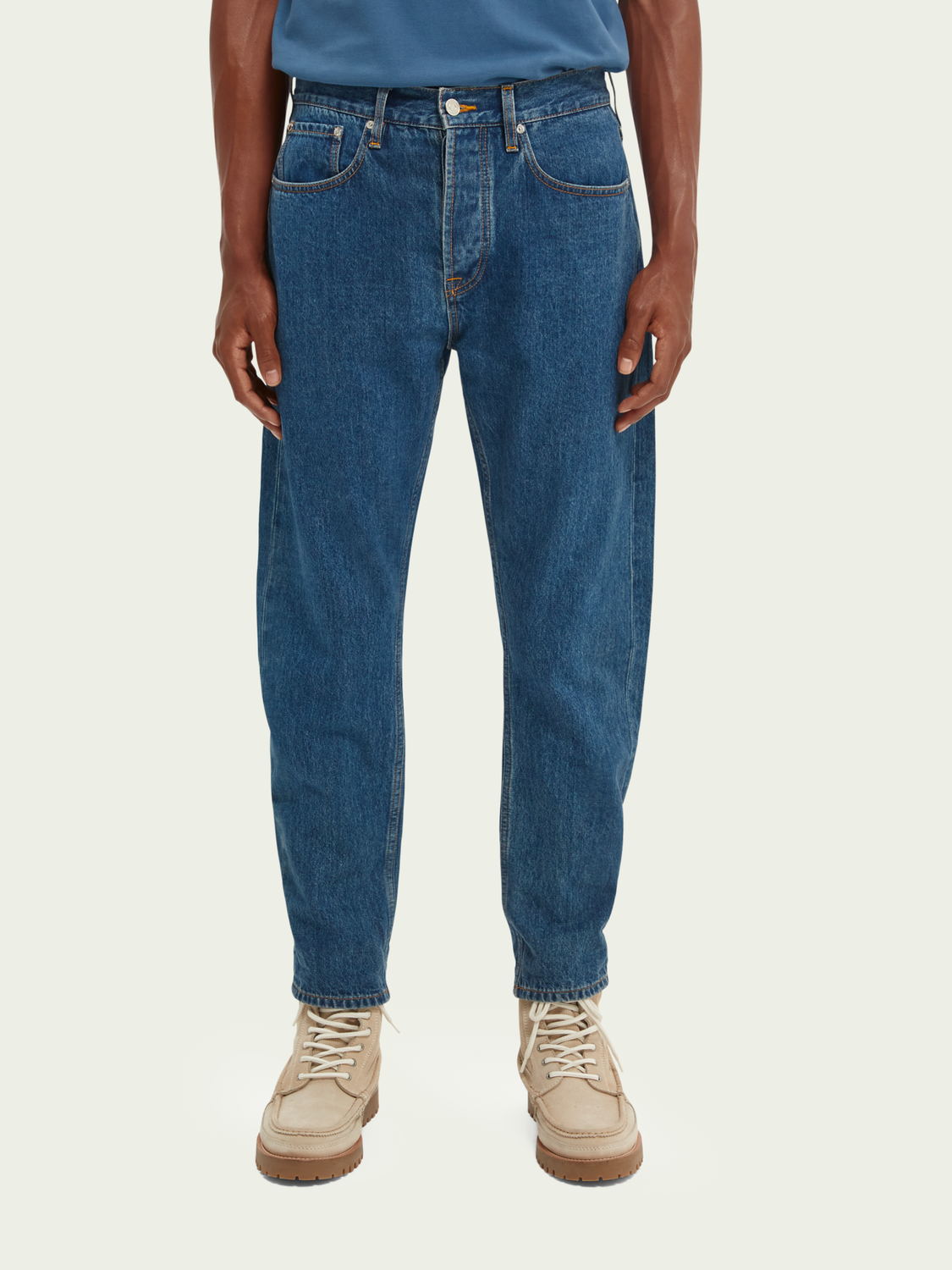 Heren Dean loose tapered jeans – Altitude