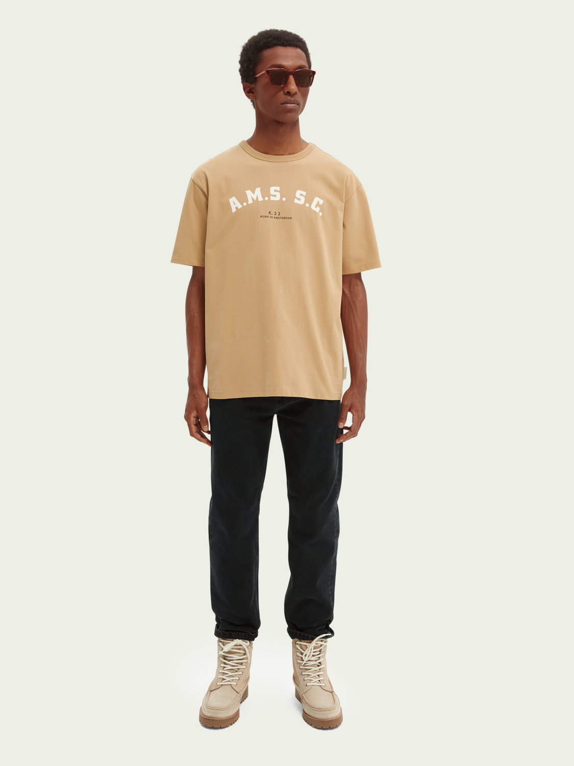 Heren Relaxed fit graphic T-shirt