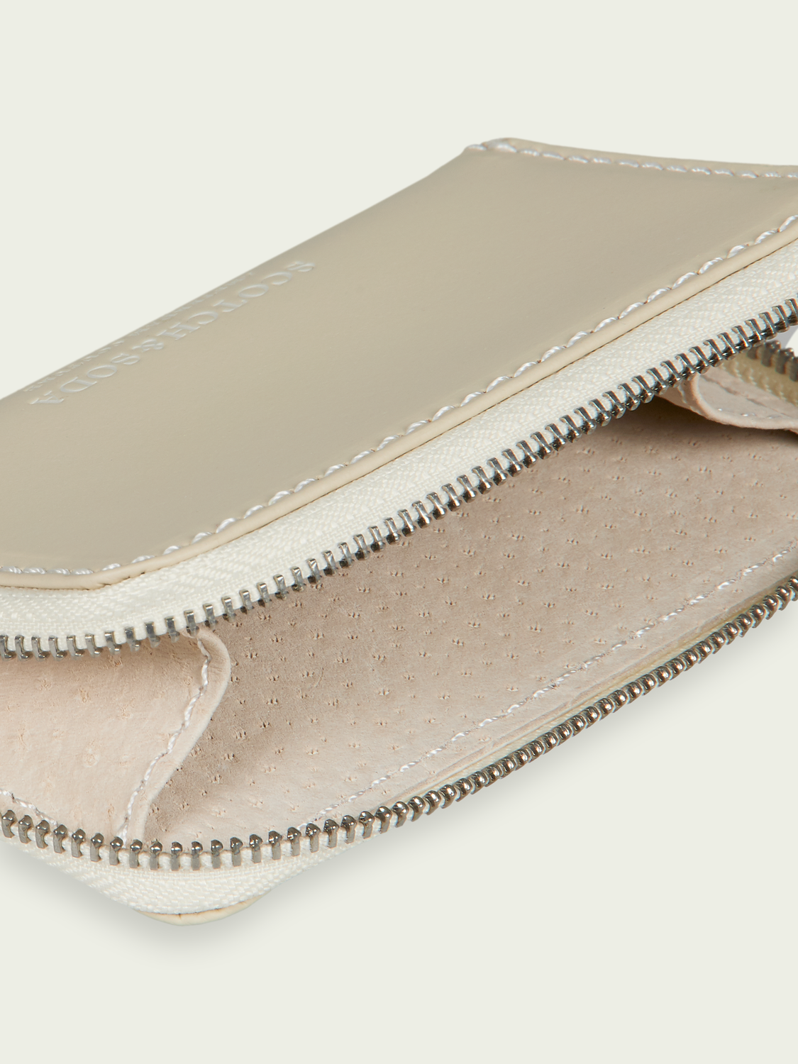 Men Recycled leather coin wallet