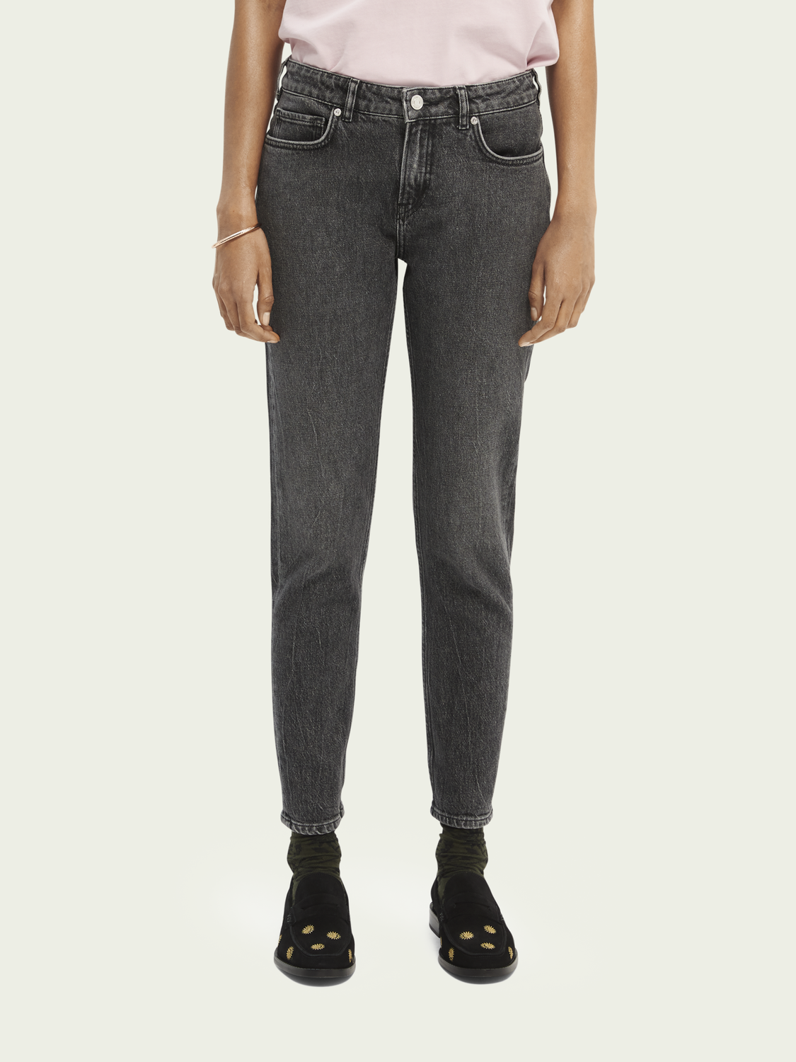Women The Keeper slim-fit jeans — Final Act