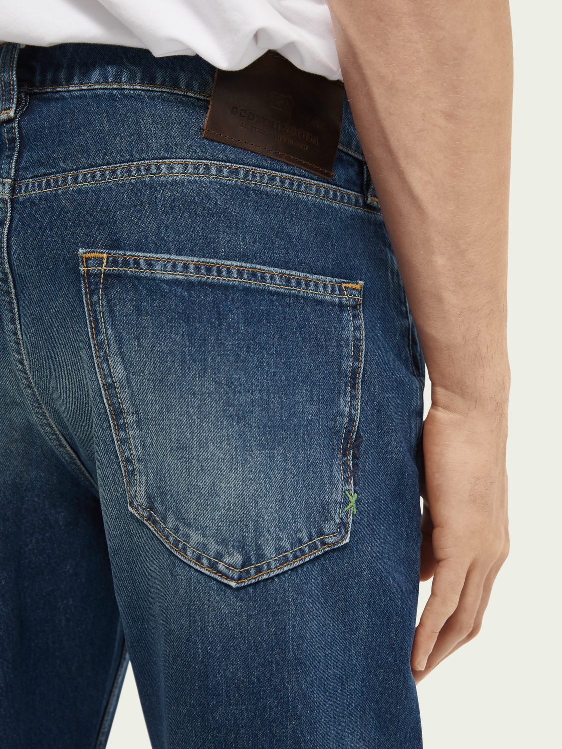 Heren Dean relaxed fit jeans