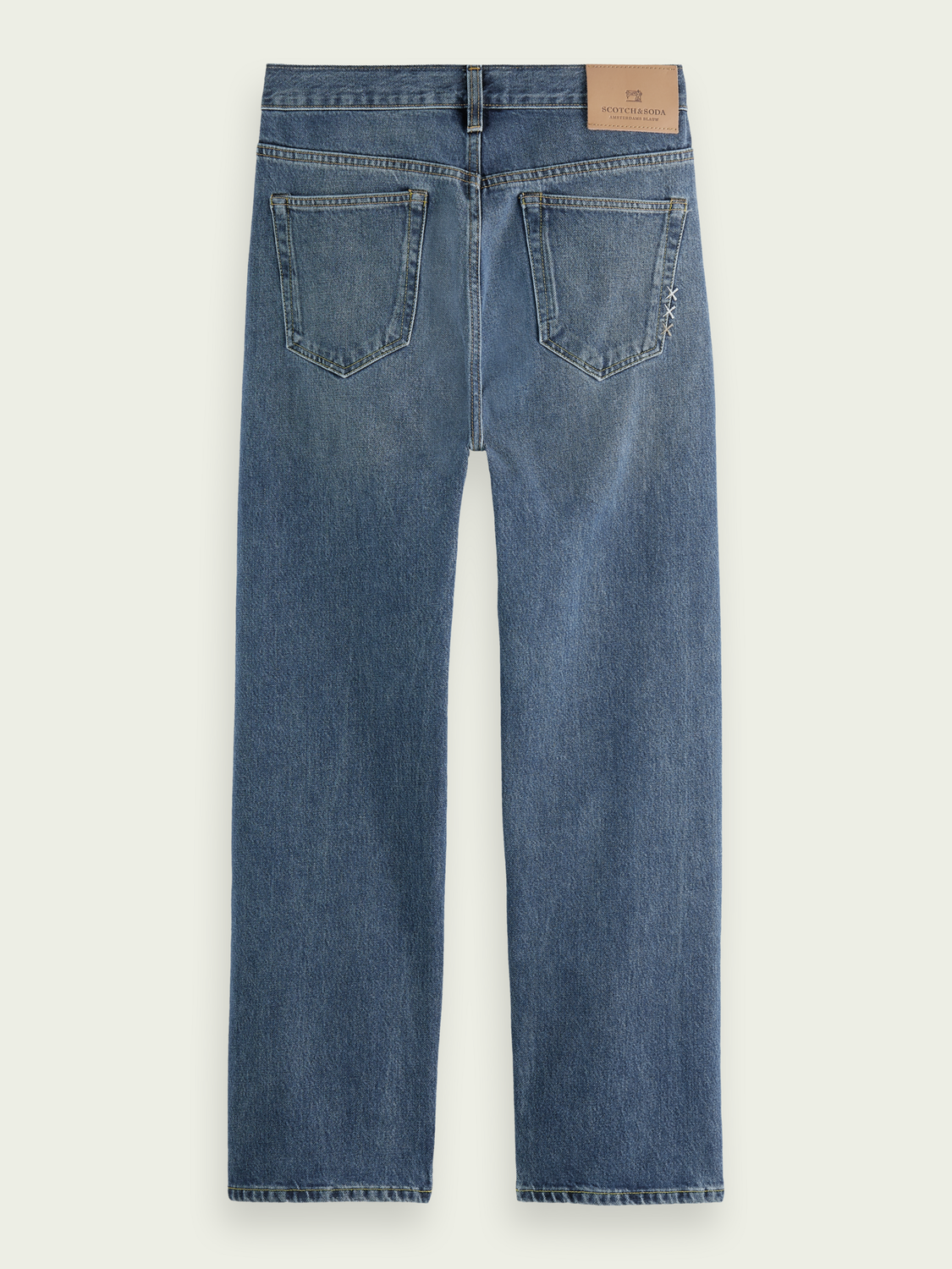 Men The Vert straight-fit organic cotton jeans– Strike a Chord