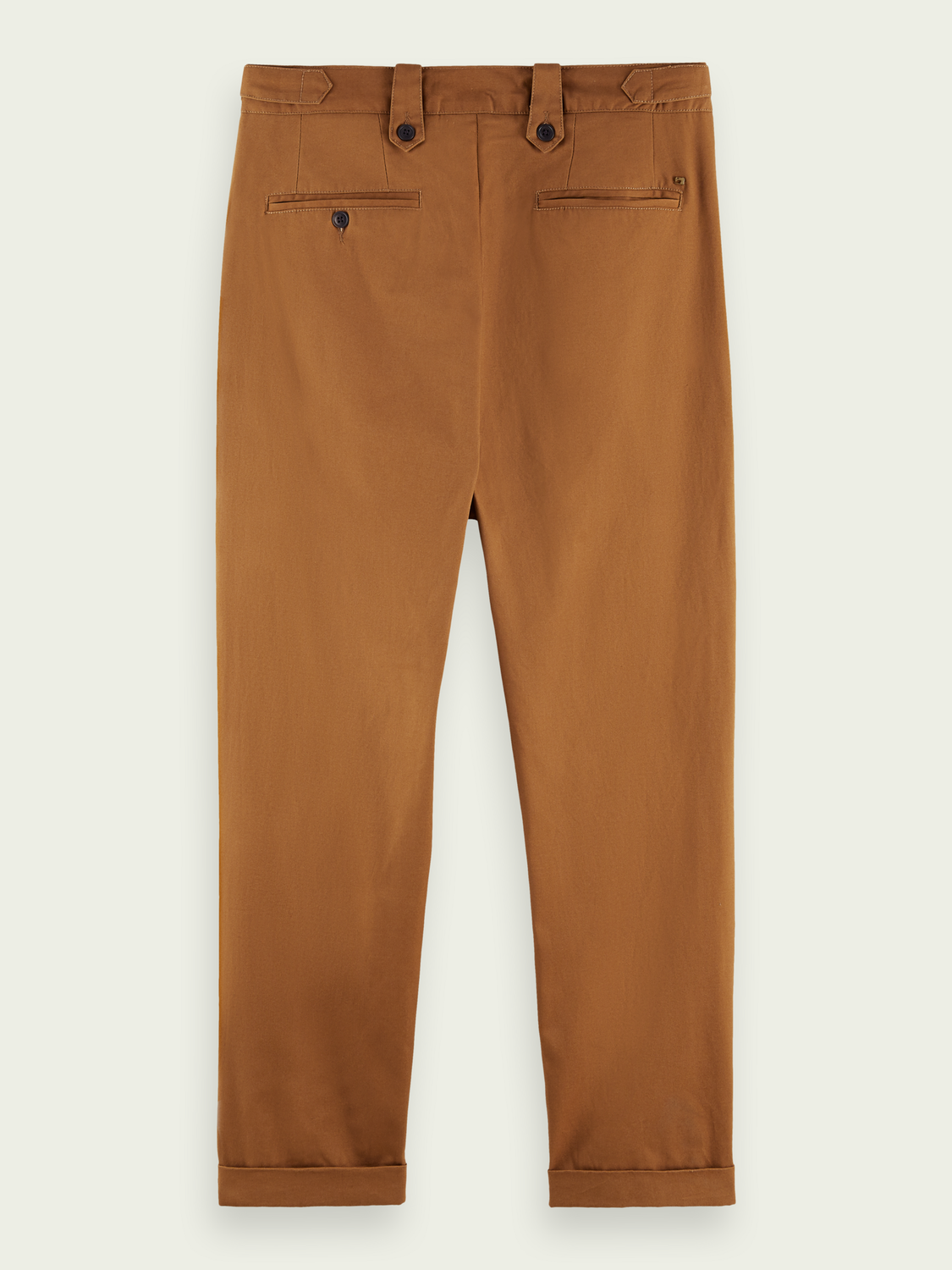 Heren Loose tapered fit chino