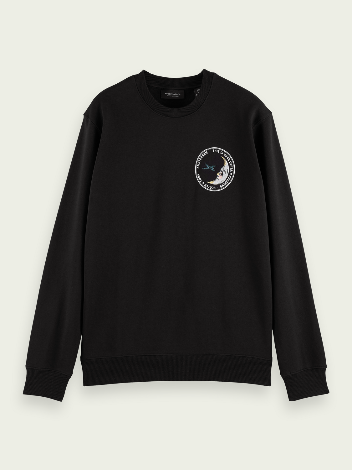 Men Embroidered graphic sweater