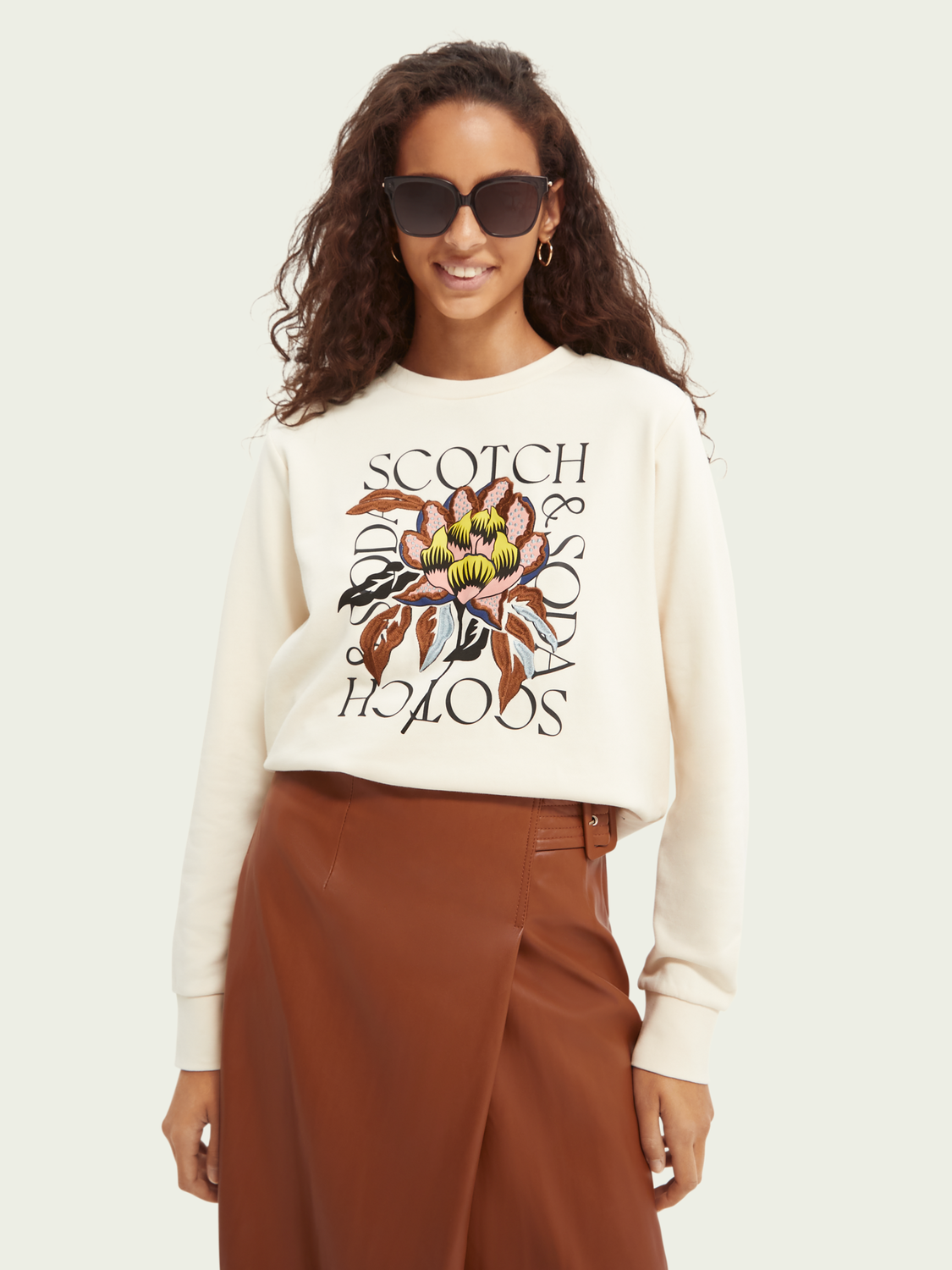 Women Regular-fit embroidered sweater