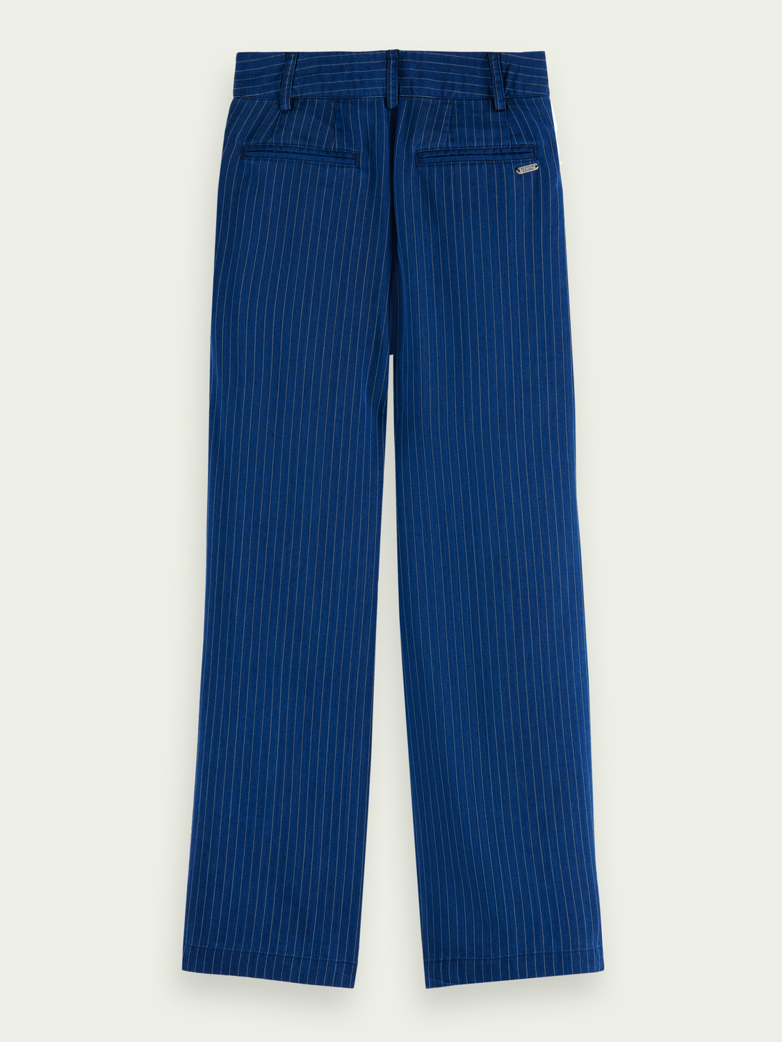 Kids Pleated loose-fit chinos