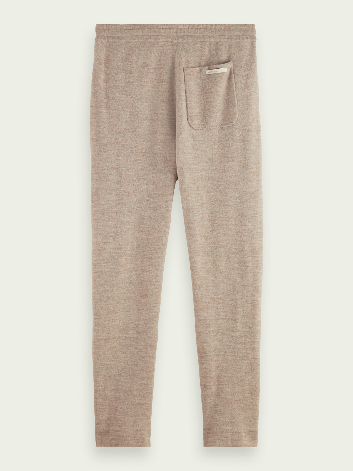Men Knitted tapered-fit jogger