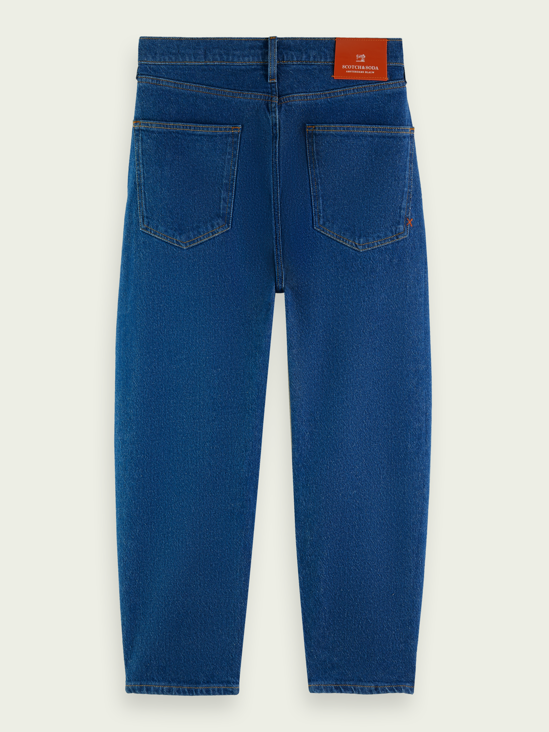 Men Super wide recycled cotton jeans — Sea Soaker