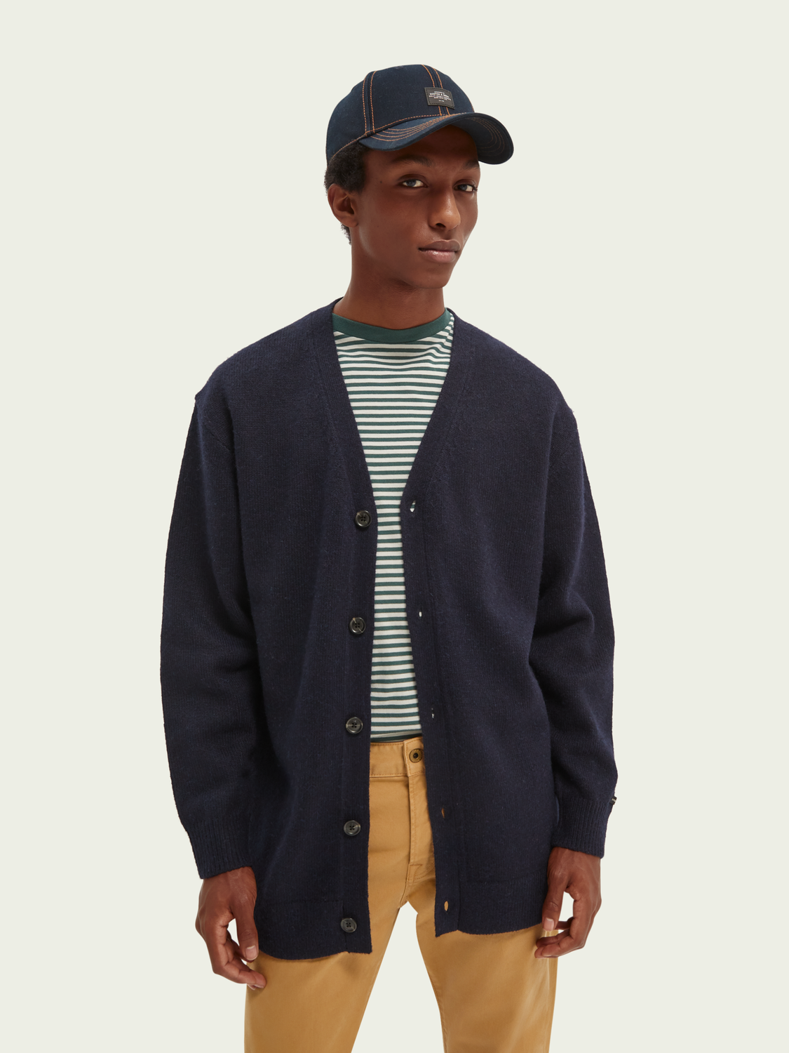 Men Relaxed-fit cardigan