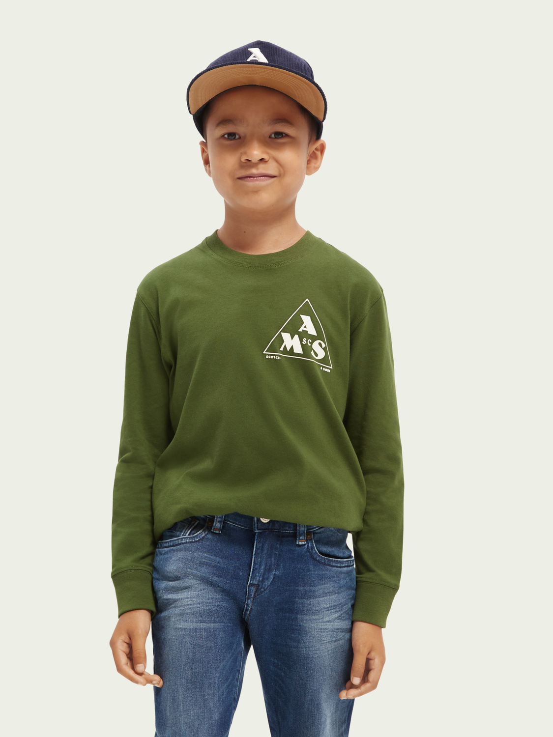 Kids Long-sleeved graphic T-shirt