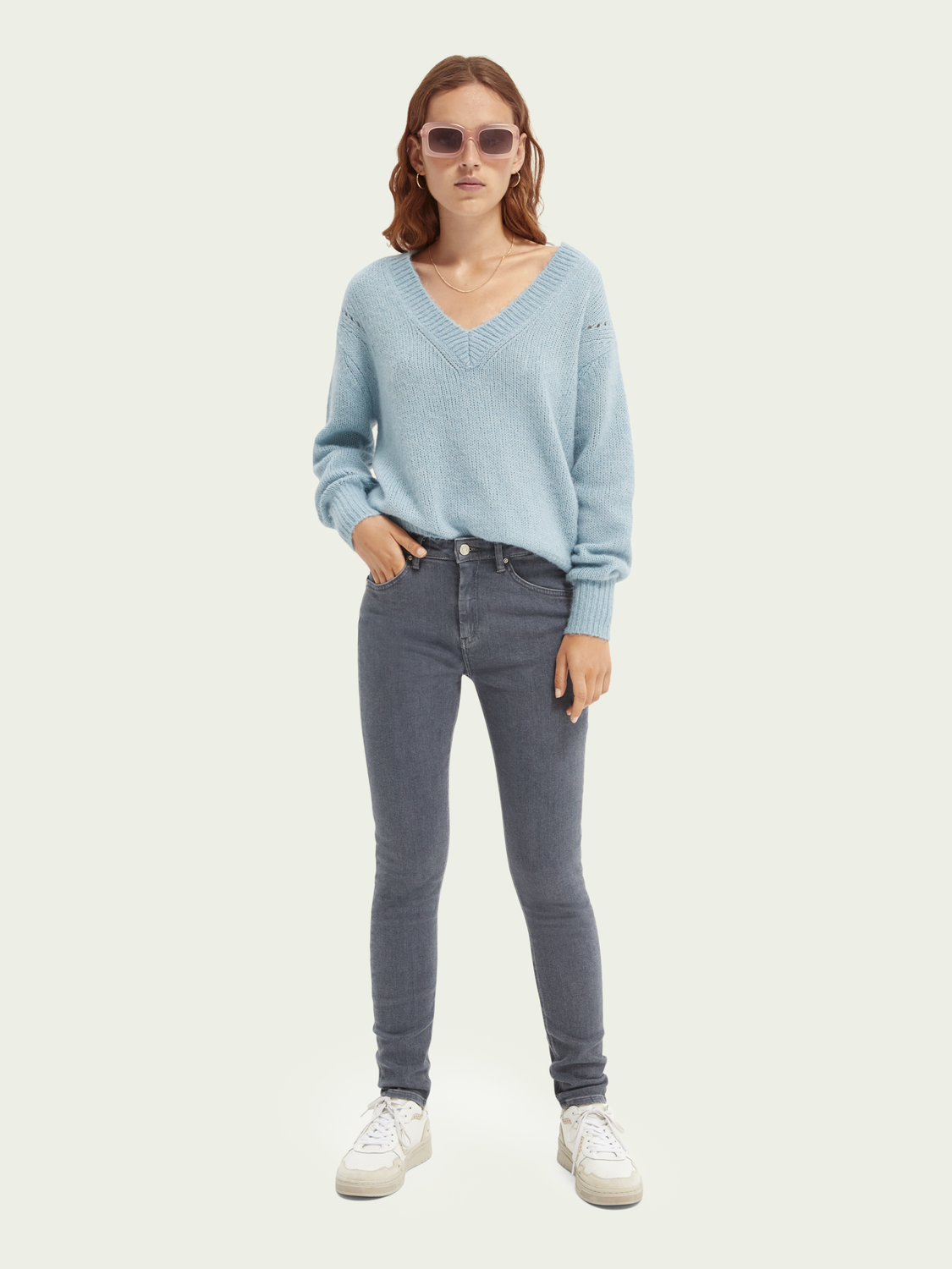 Women Haut high-rise skinny jeans — Back in Time