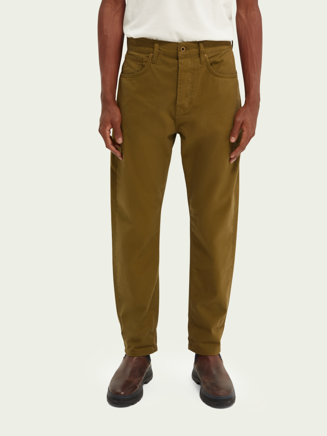Men Dean loose tapered jeans — Clean Green