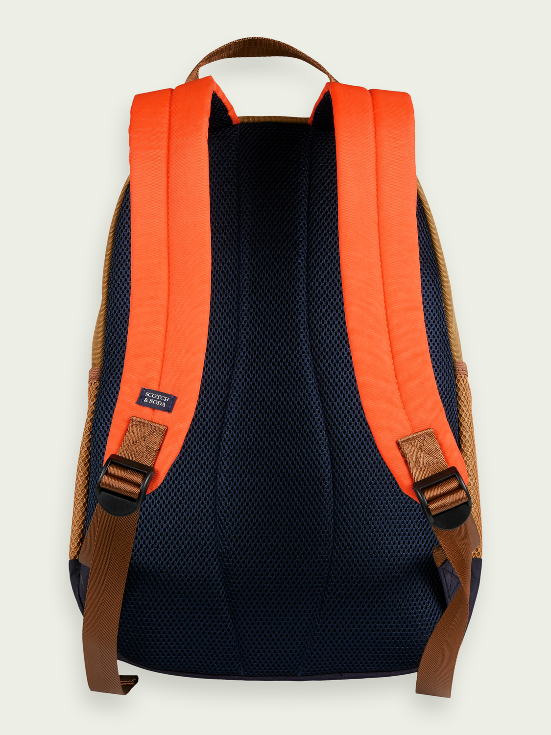 Kids Graphic colour-block backpack