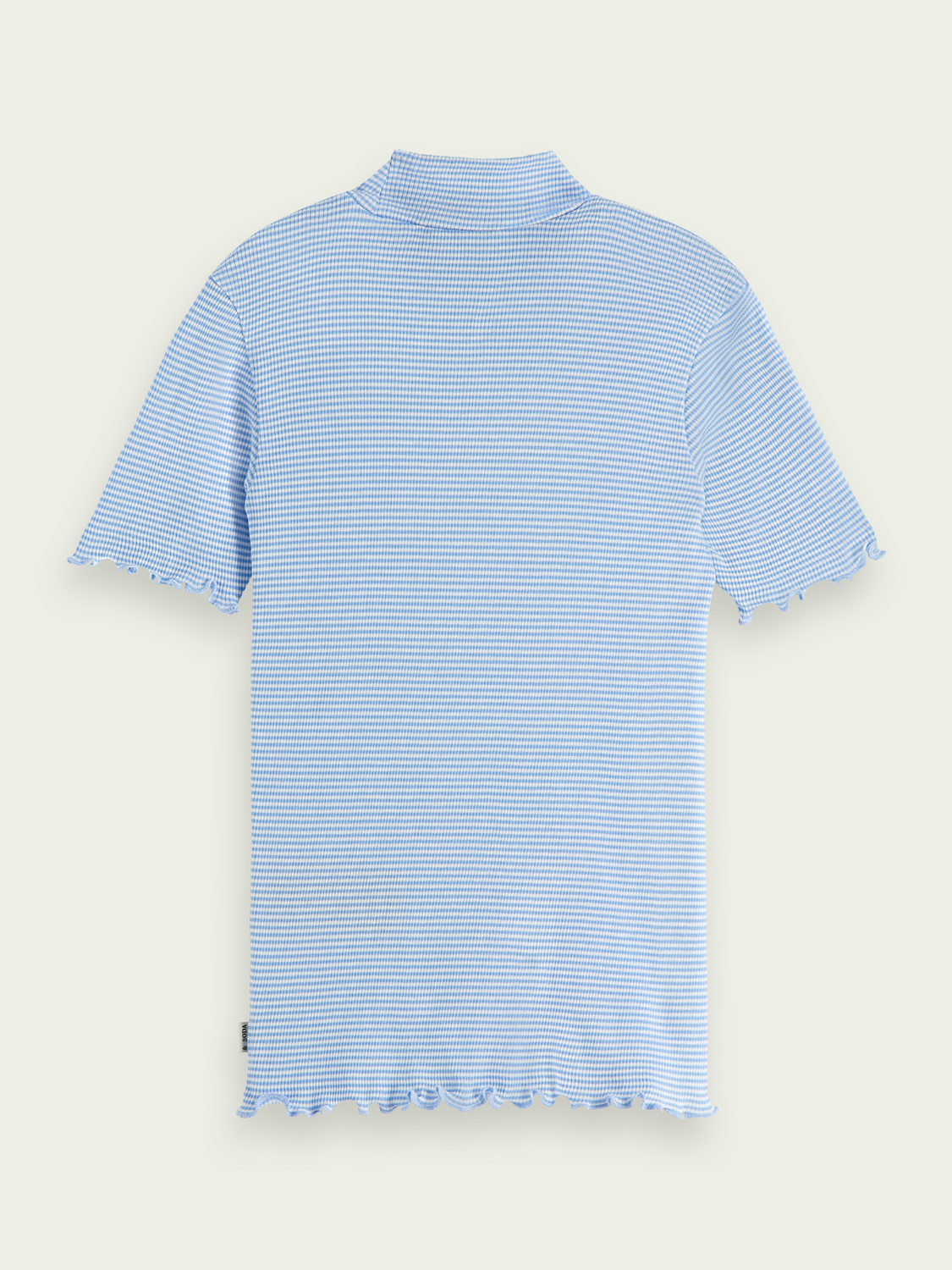 Kids Fitted mock neck T-shirt