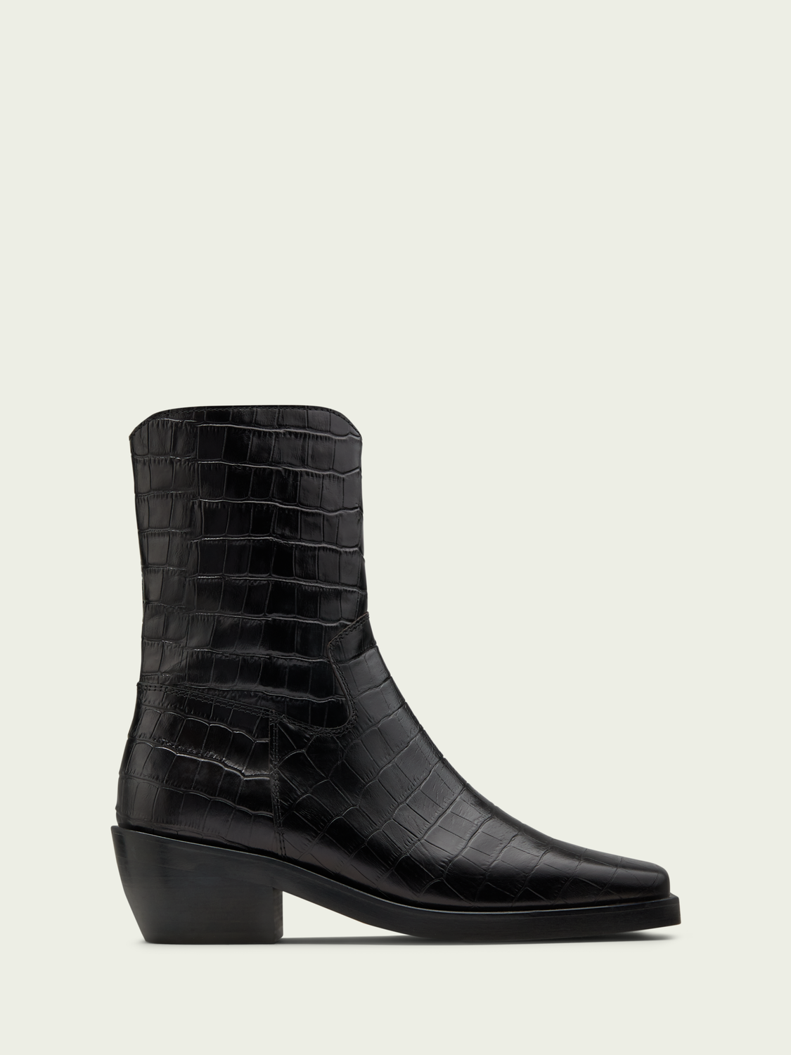 Women Hannah leather ankle boot