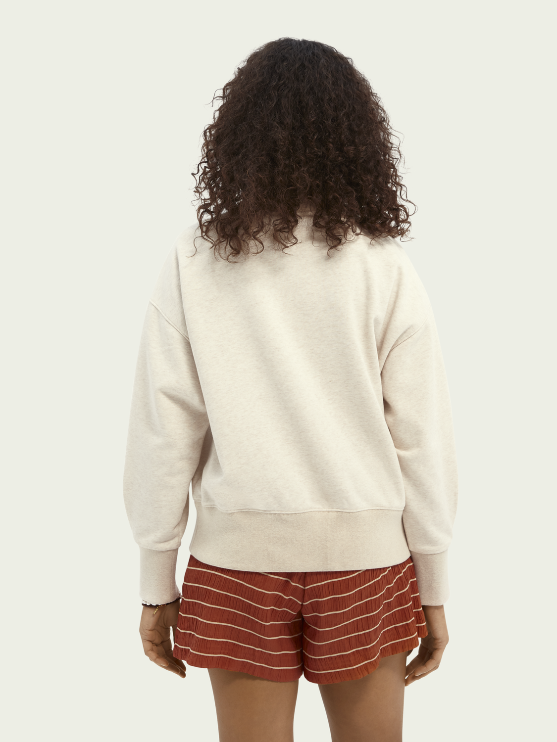 Women Relaxed-fit cotton-blend sweater