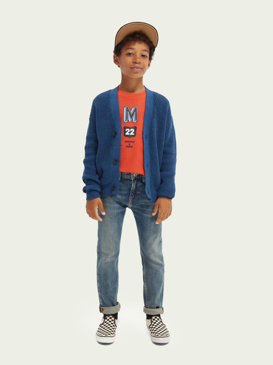 Bambini Dean – Loose tapered fit – Sea Worthy