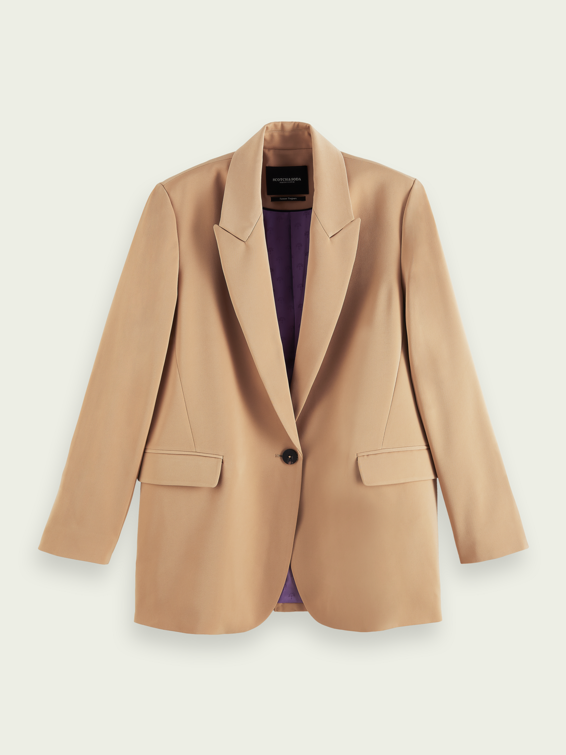 Women Relaxed-fit classic blazer