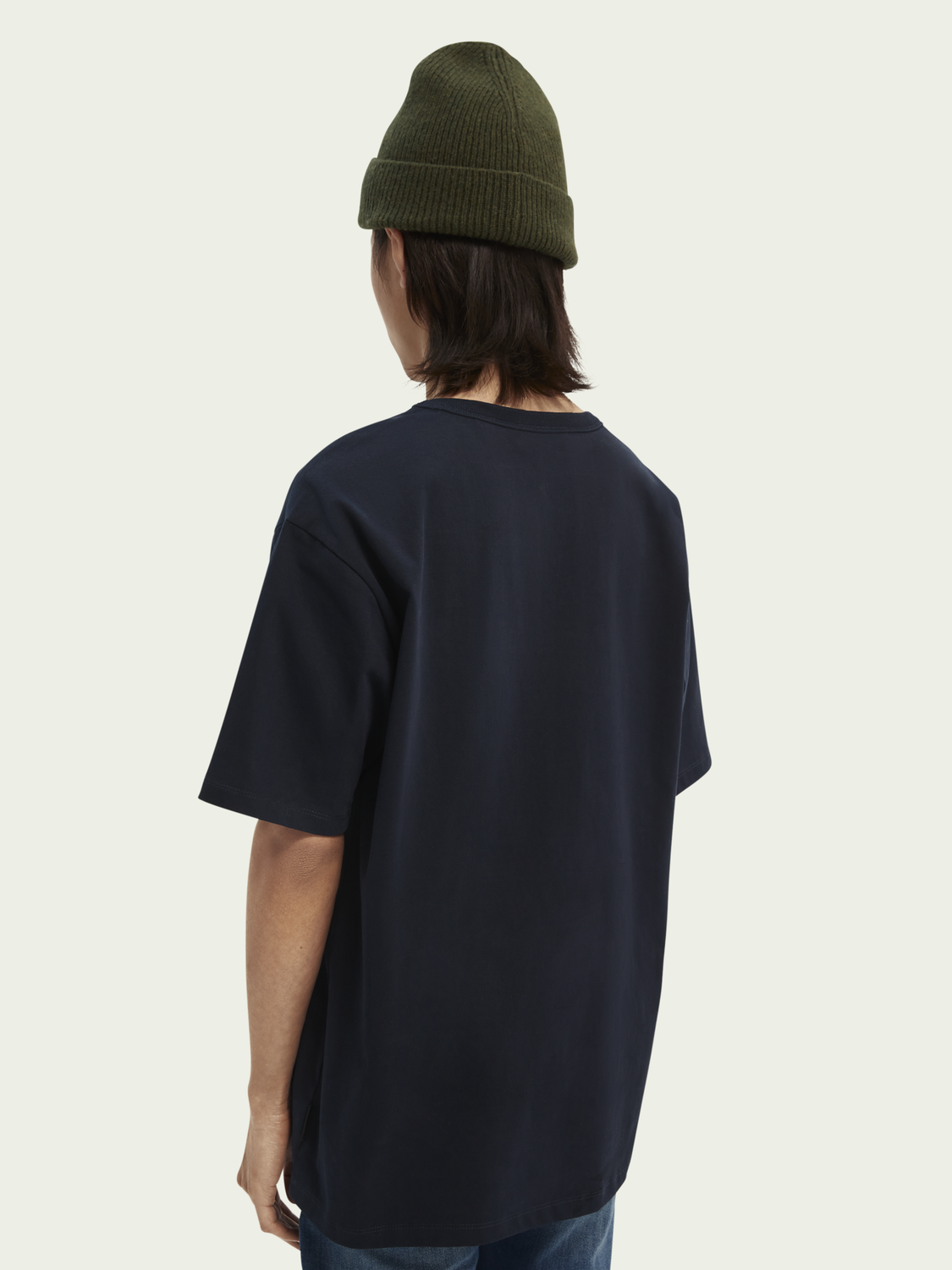 Uomo T-shirt relaxed fit con grafica
